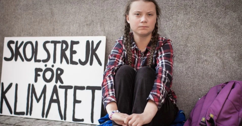 Greta Thunberg - climate, environment, children, empowererment - from Twitter account 2.jpg