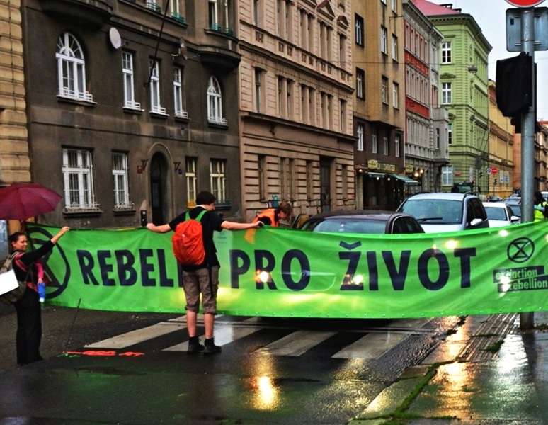 Rebel for life - Photo by XR Praha