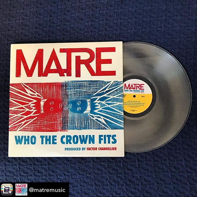 Repost from @matremusic using @RepostRegramApp - Down to the last few limited edition vinyl! Grab one now @ matre.bandcamp.com/merch Link in Bio. #whothecrownfits Produced by @factorchandelier ! Records cut by master vinyl scientist @royalmintrecords Amazing artwork by Laura Summer @freecolumbiaart & design by @joshuatemkin Thank you to everyone bumping the EP! #vinyl #vinylrecords #hiphop #music #newmusic #newvinyl #factorchandelier #matremusic #loveforce