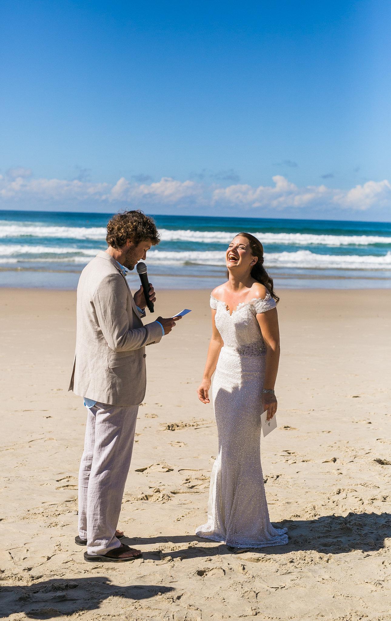 BYRON BAY WEDDING CELEBRANT COOL FUN