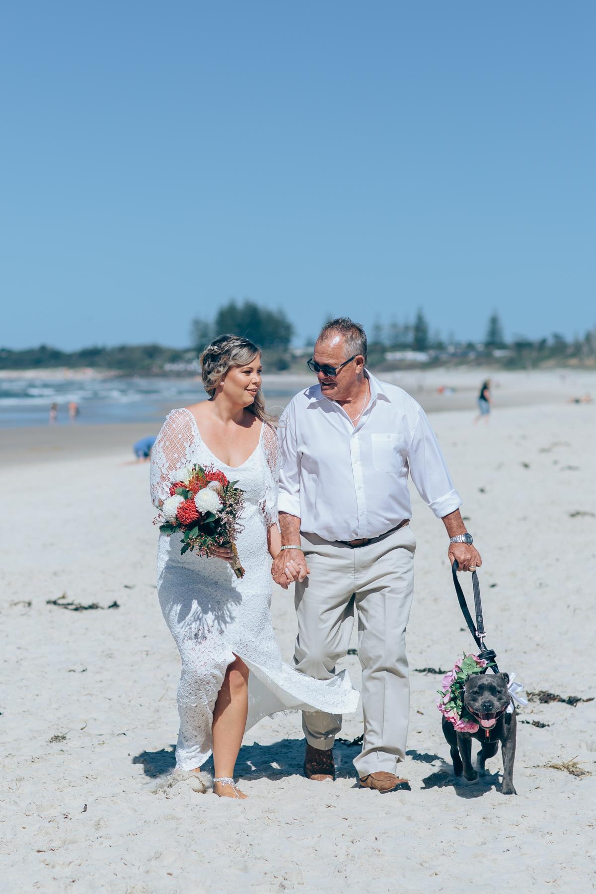 dogs at weddings Byron Bay celebrant 2.jpg