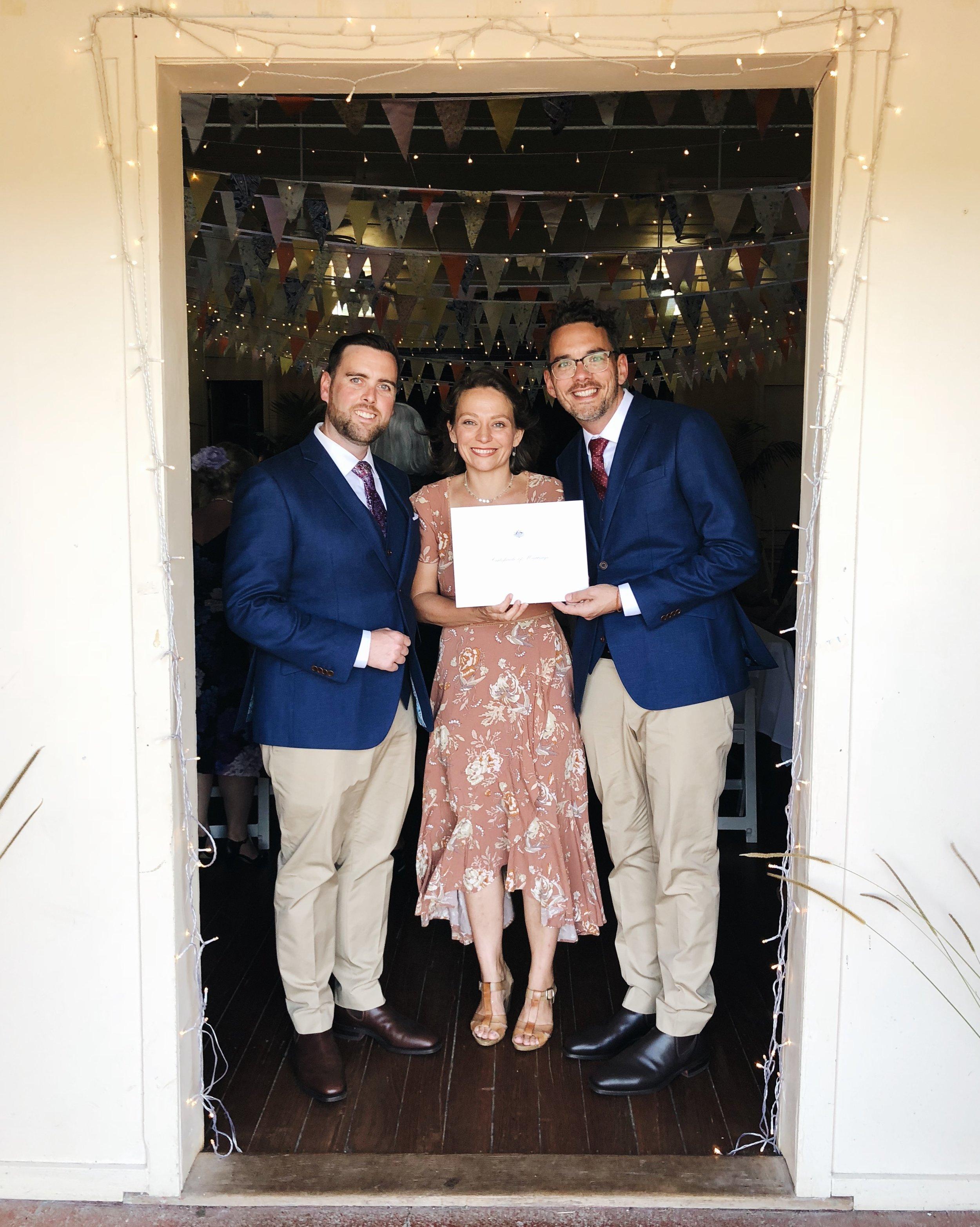 same sex marriage byron bay celebrant