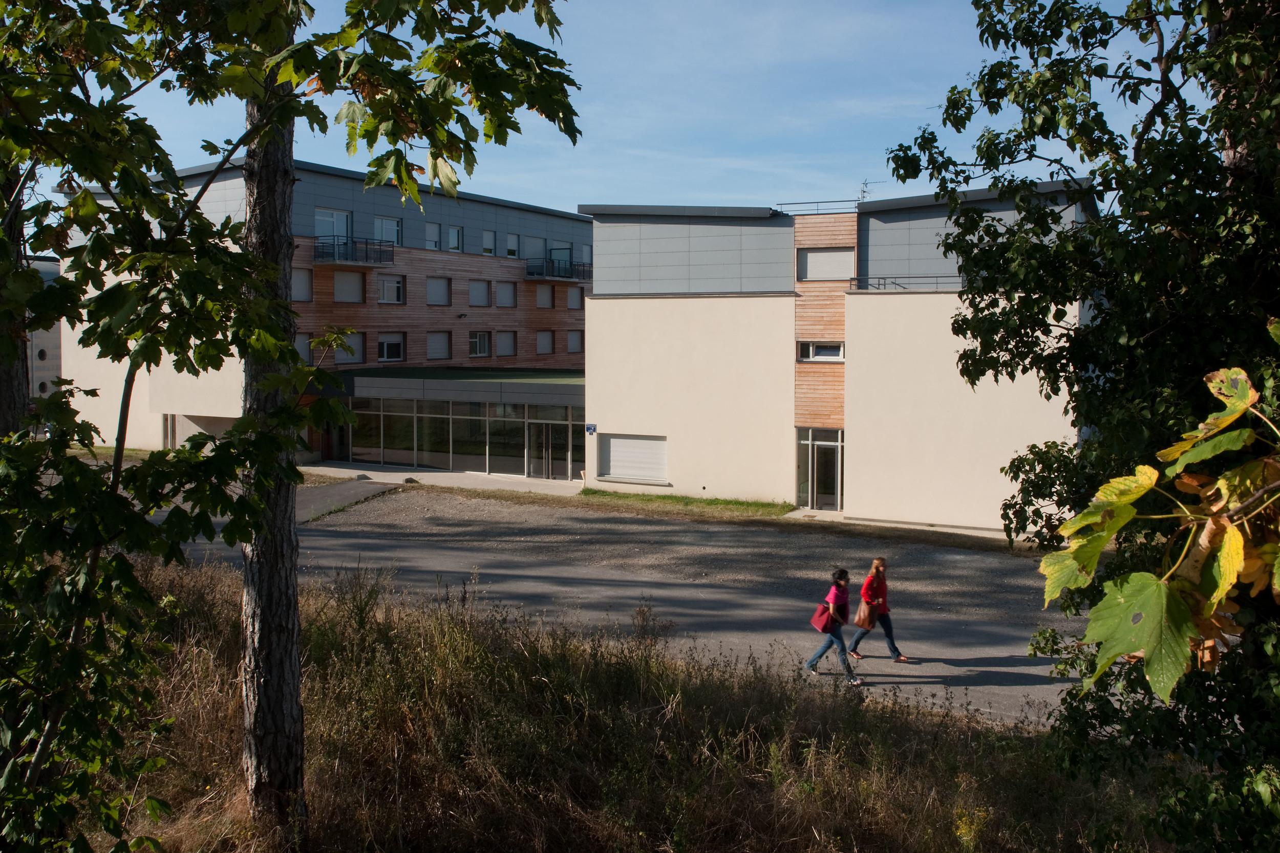 Compiègne -Résidence étudiants -Crous