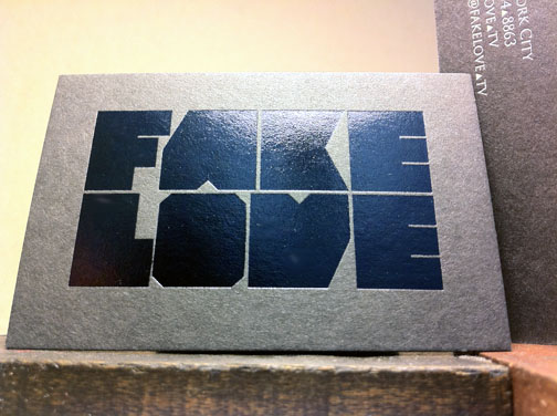 Black Foil Stamp | Source