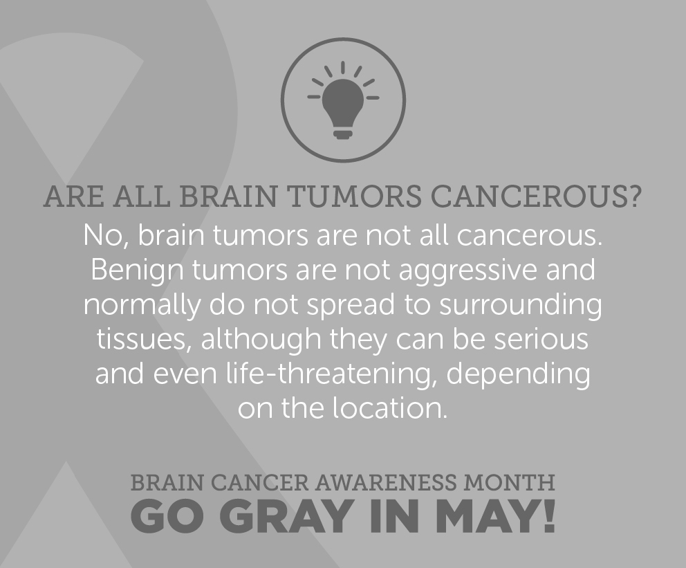 To learn more about Benign and Malignant Tumors, click here:  http://bit.ly/20Ylonm