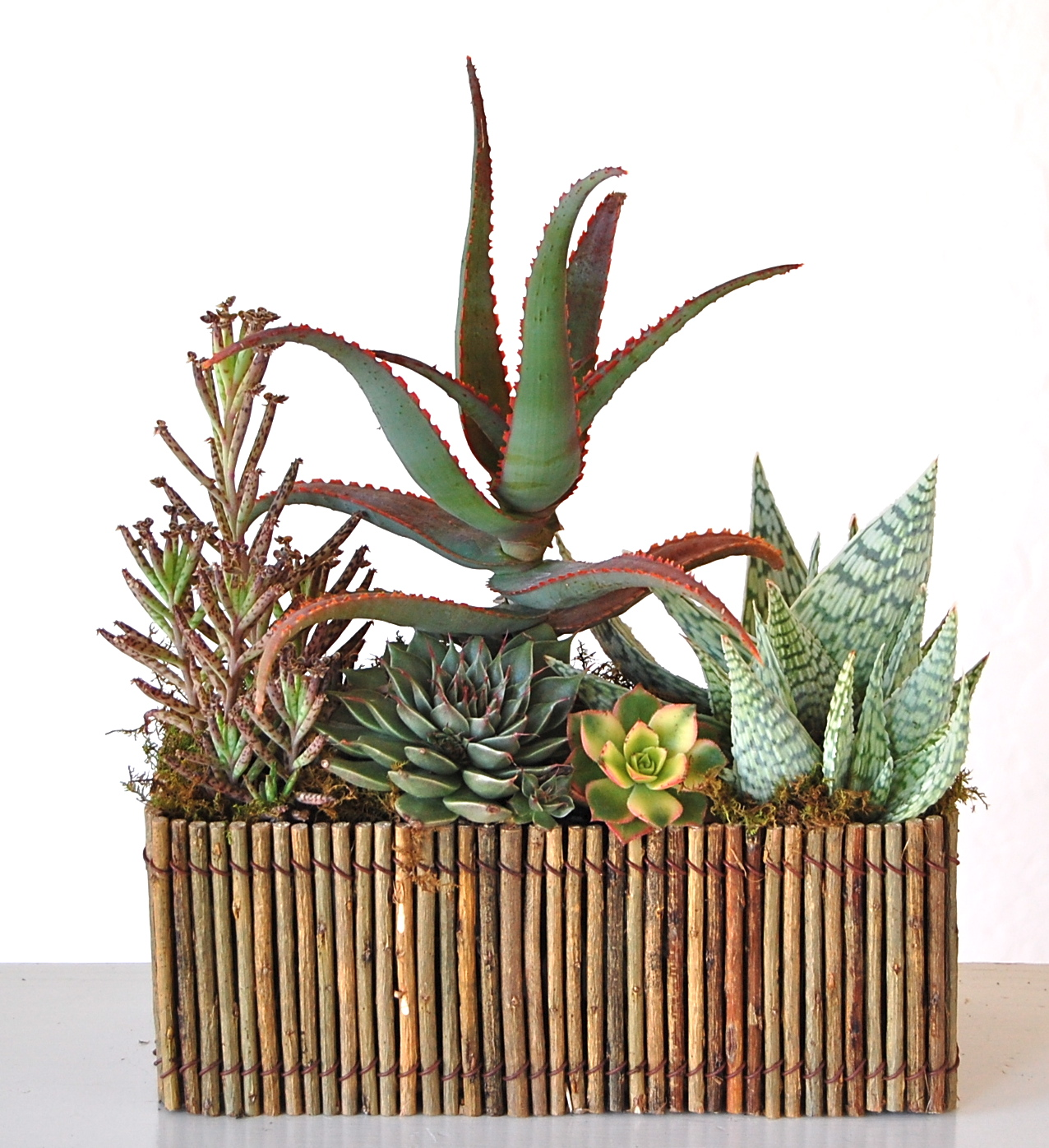 Willow Twig Rectangle Planter