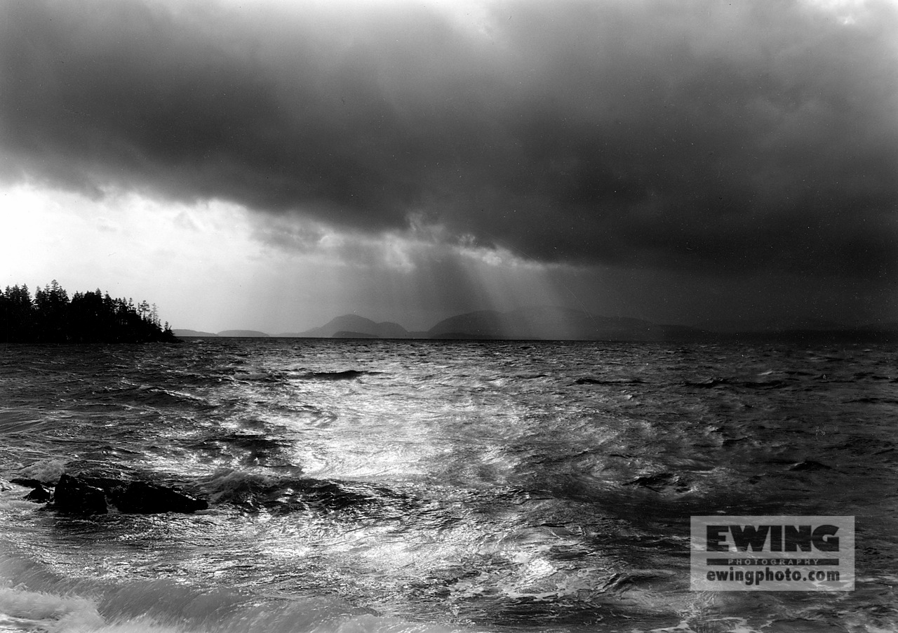 December Storm, Frenchman Bay Acadia National Park, Maine