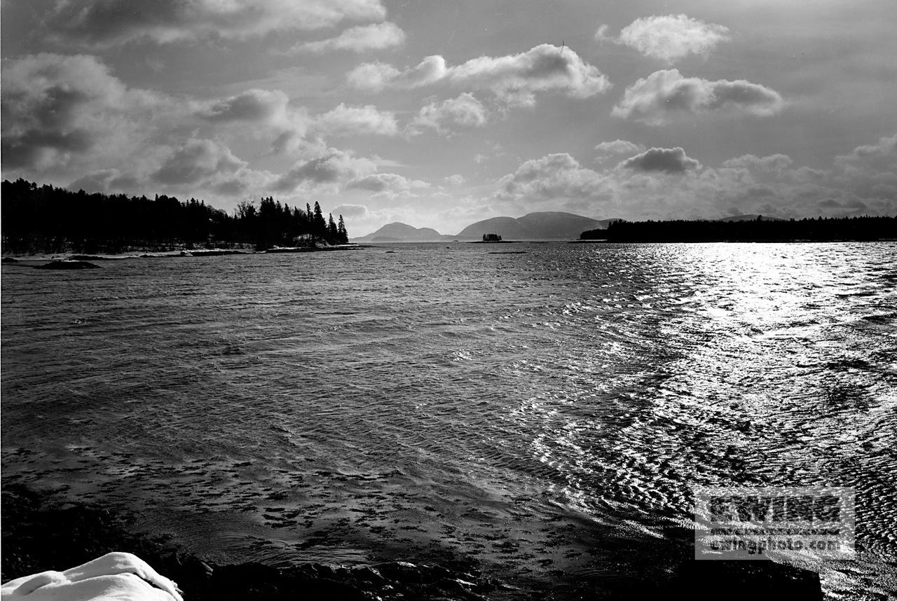 Acadia Mountains, Captain Kidd Island West Wind, Sorrento, Maine Acadia Mountains, Captain Kidd Island West Wind, Sorrento, Maine #97000