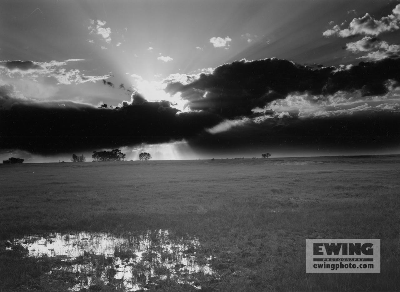 Sunset Pawnee Grasslands, Colorado