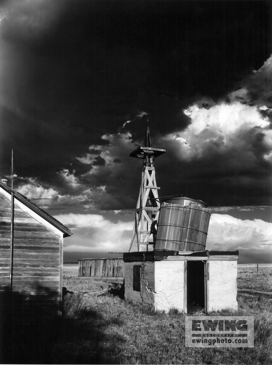 Storm & Collapsing Buildings Pawnee Grasslands, Colorado