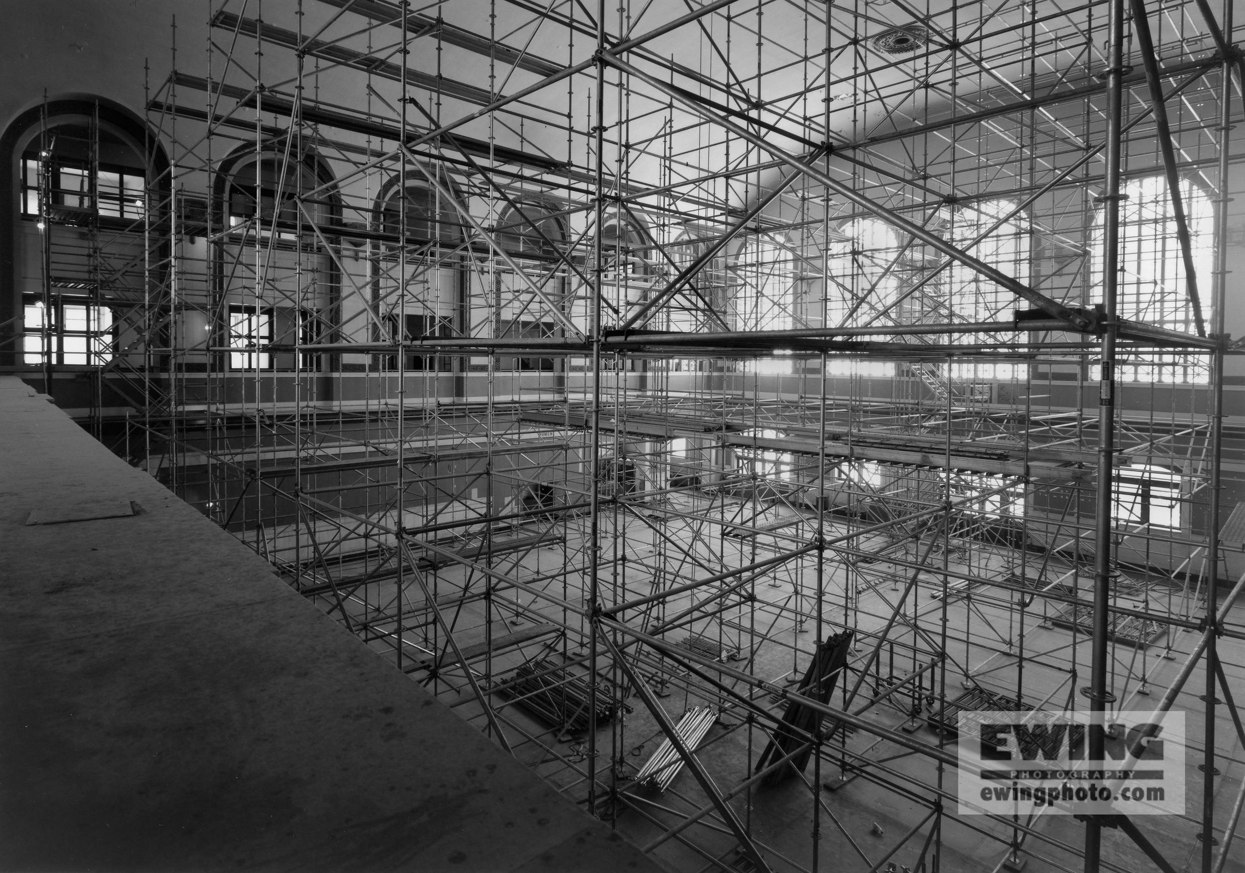 Union Station Grand Hall Scaffold, Denver, CO