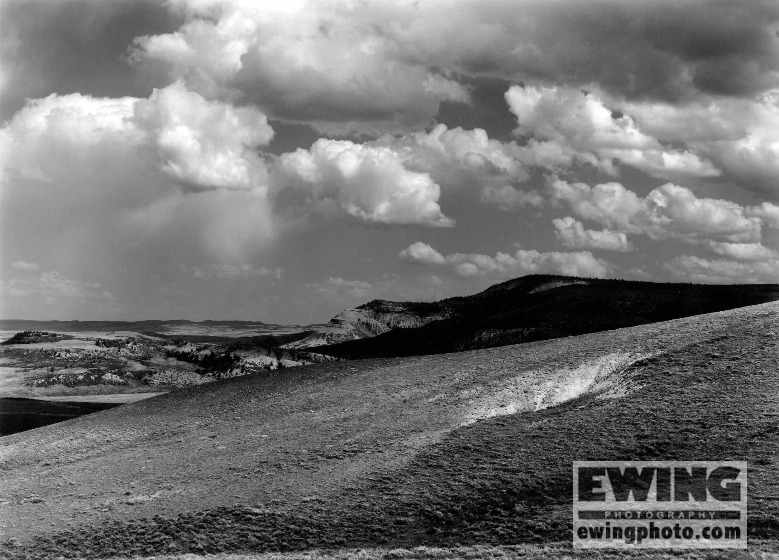 South of Wood's Landing Wyoming