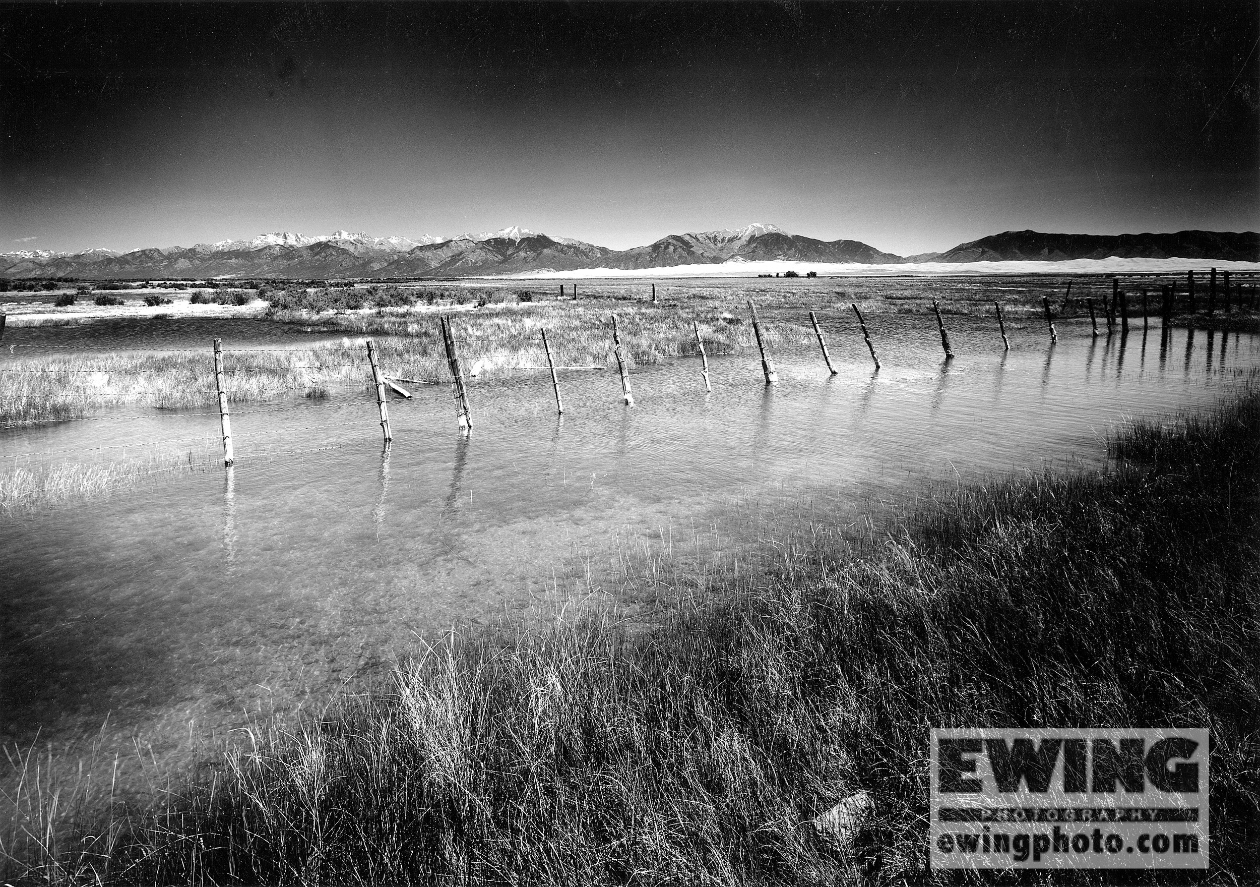 Spring Thaw, Zapata Ranch Great Sand Dunes National Park, Colorado