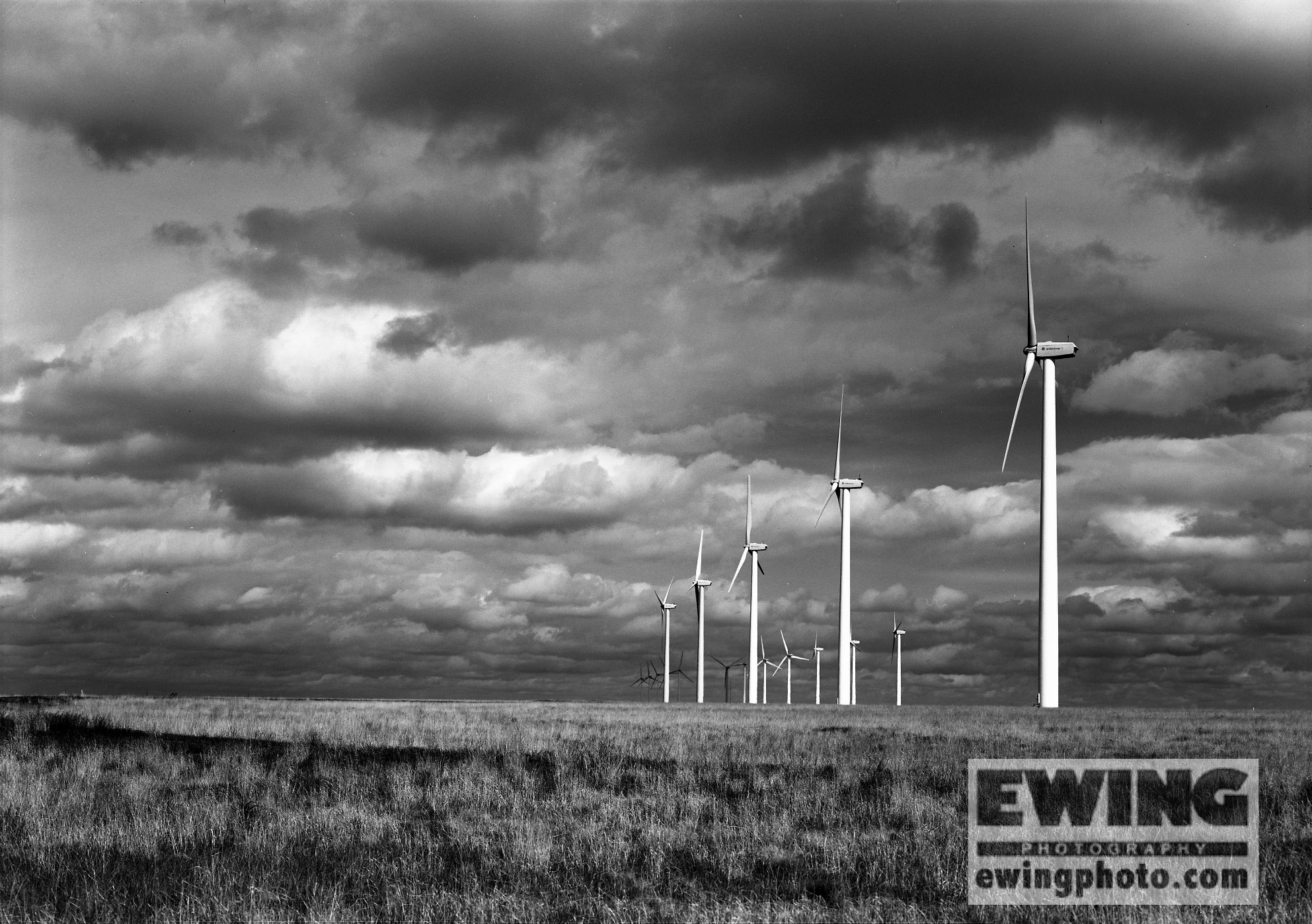 Windmills, Baca County, Colorado