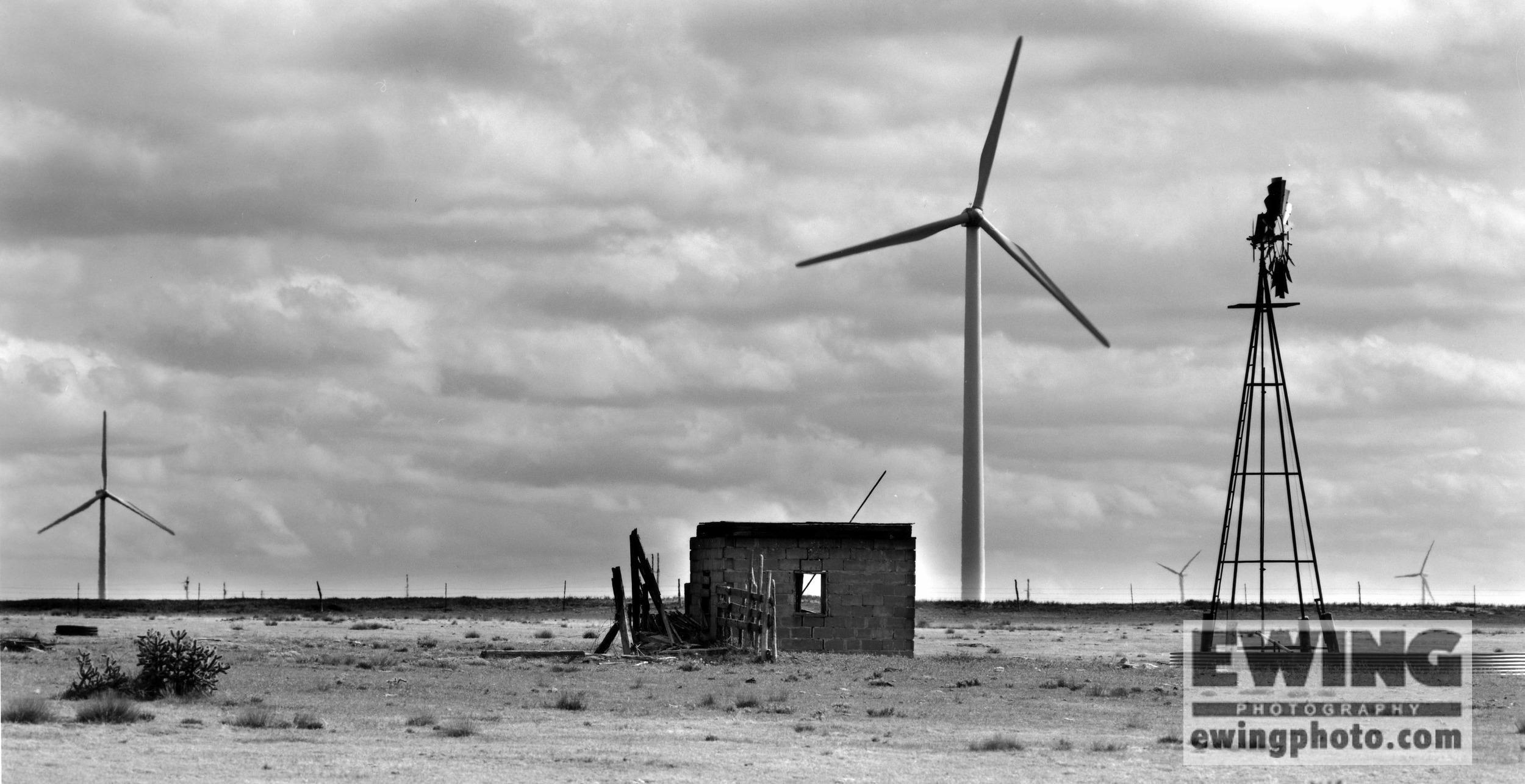 Wind Mills, Baca County Colorado