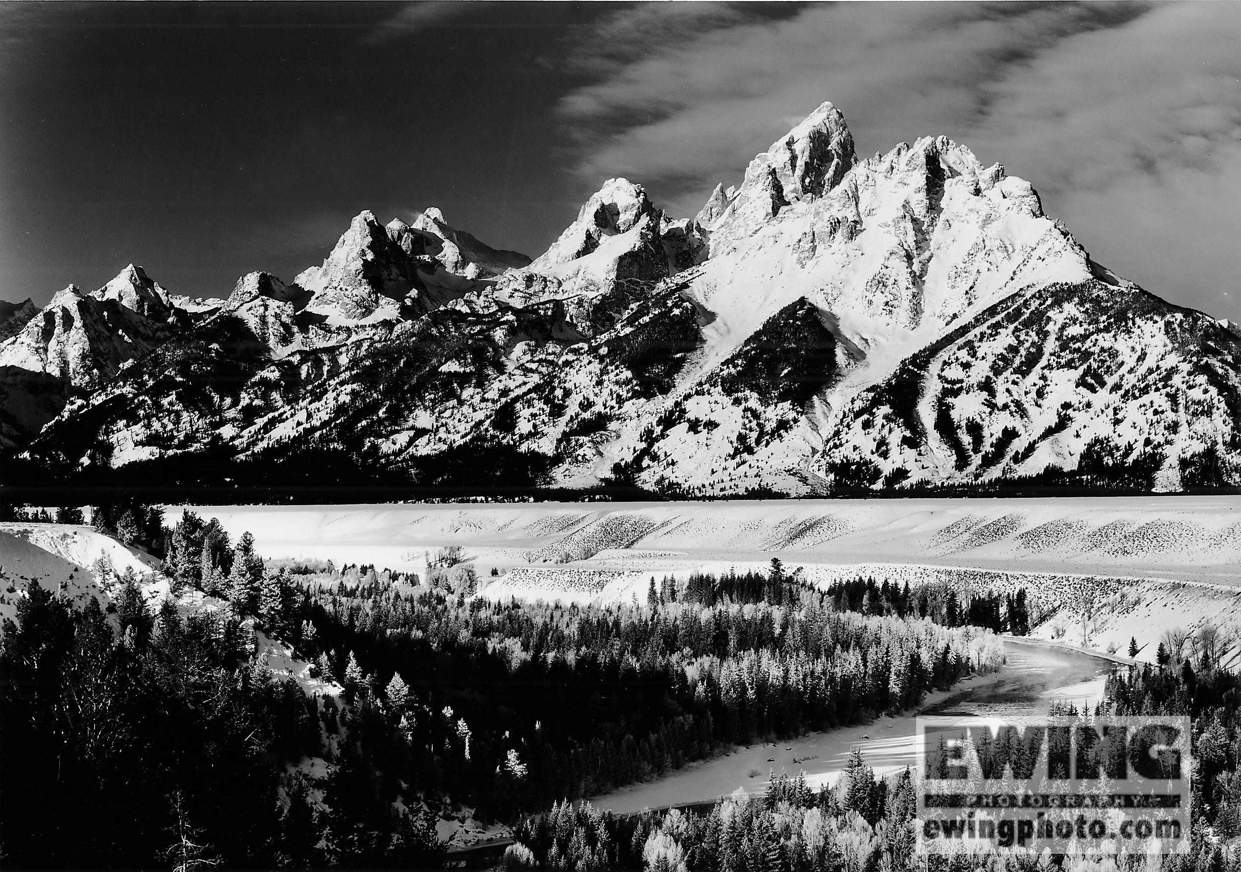 """""""Les Trios Tetons"""" Teton National Park, Wyoming"""