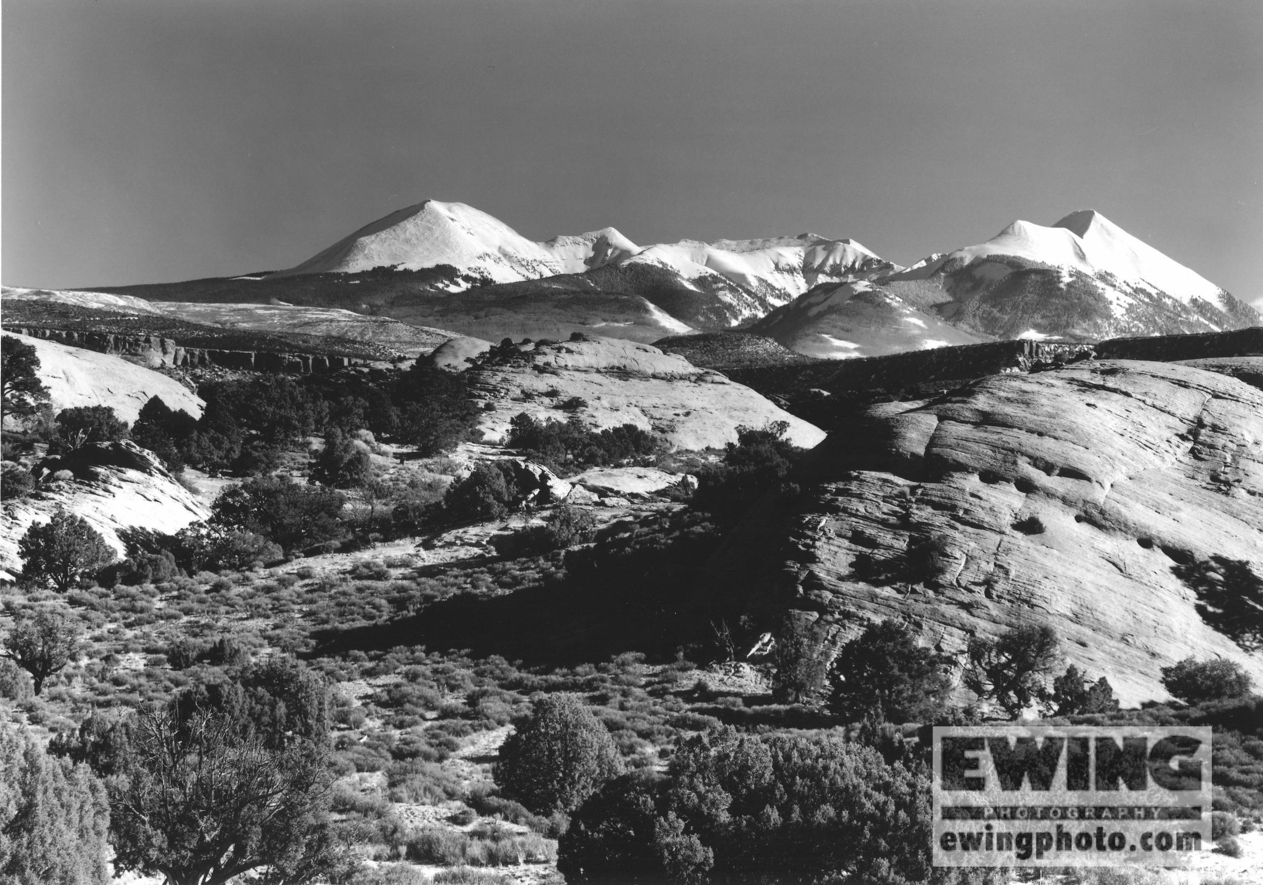 La Sal Mountains, Sand Flats Moab, Utah