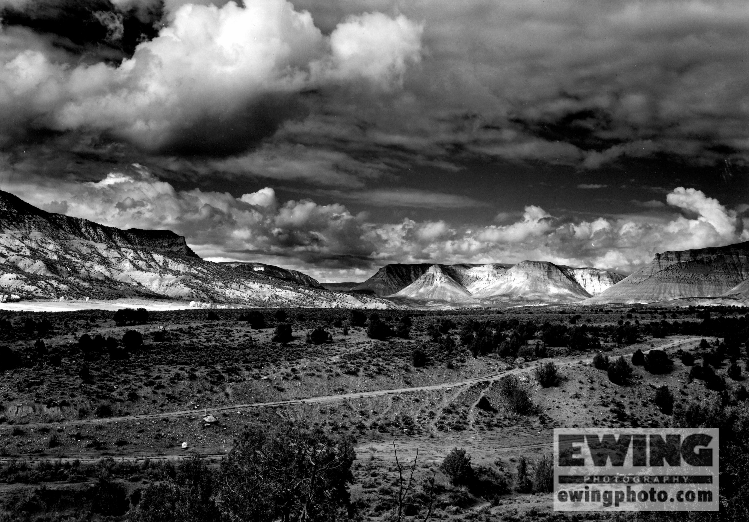 Roan Plateau North from Mt Logan, Grand Junction, Colorado