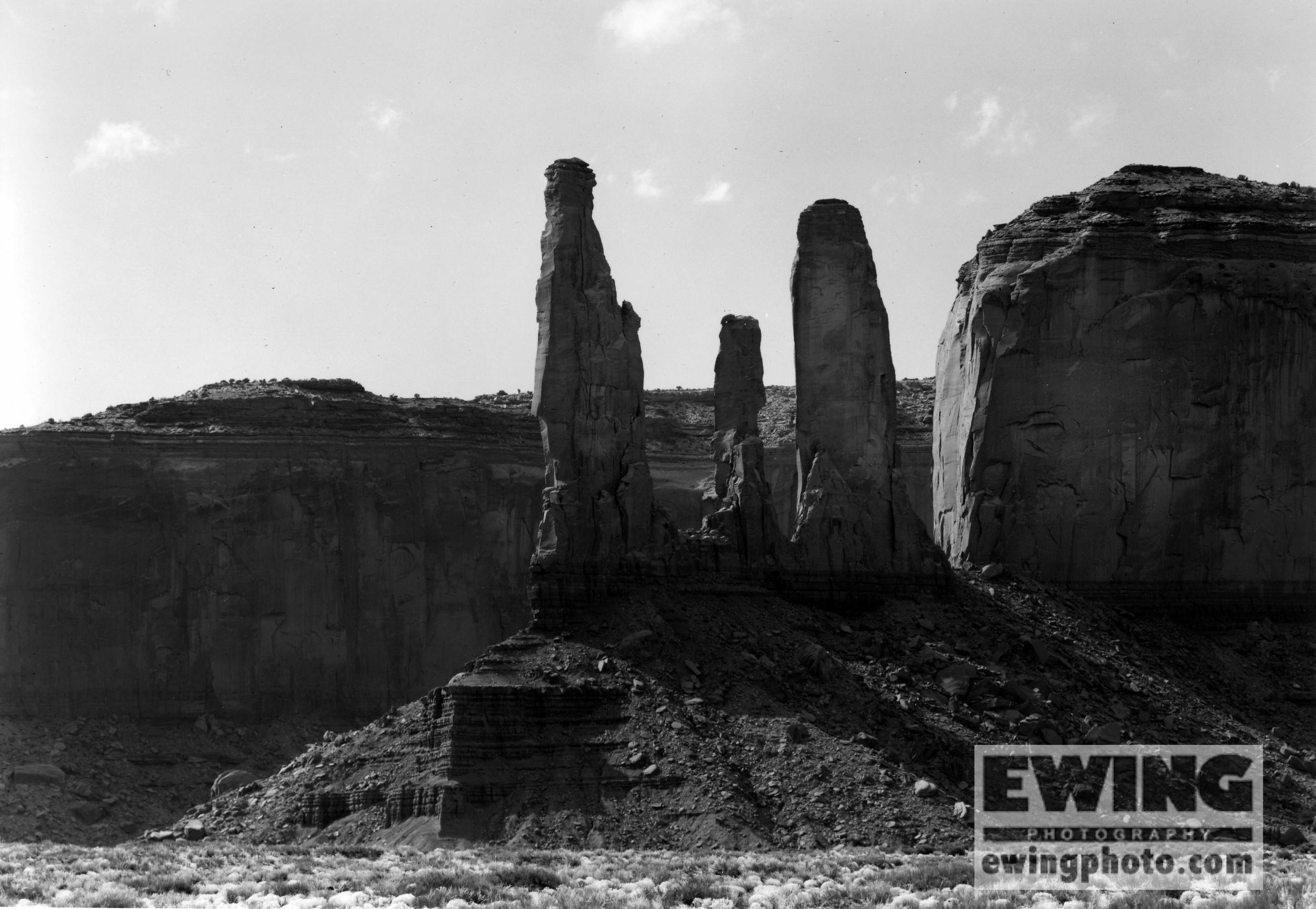 3 Sisters, Monument Valley, Arizona