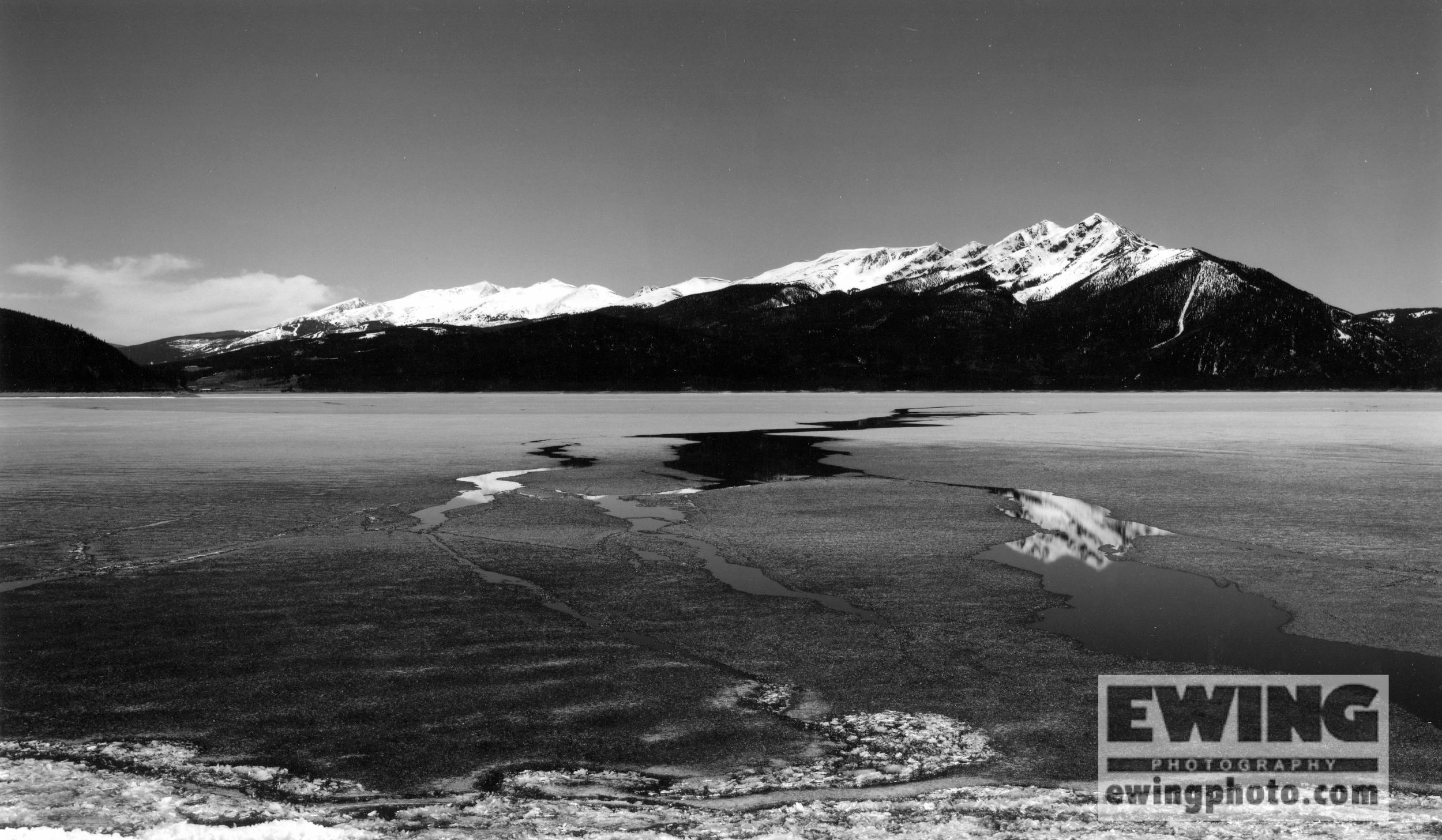 Spring Thaw Lake Dillon, Colorado