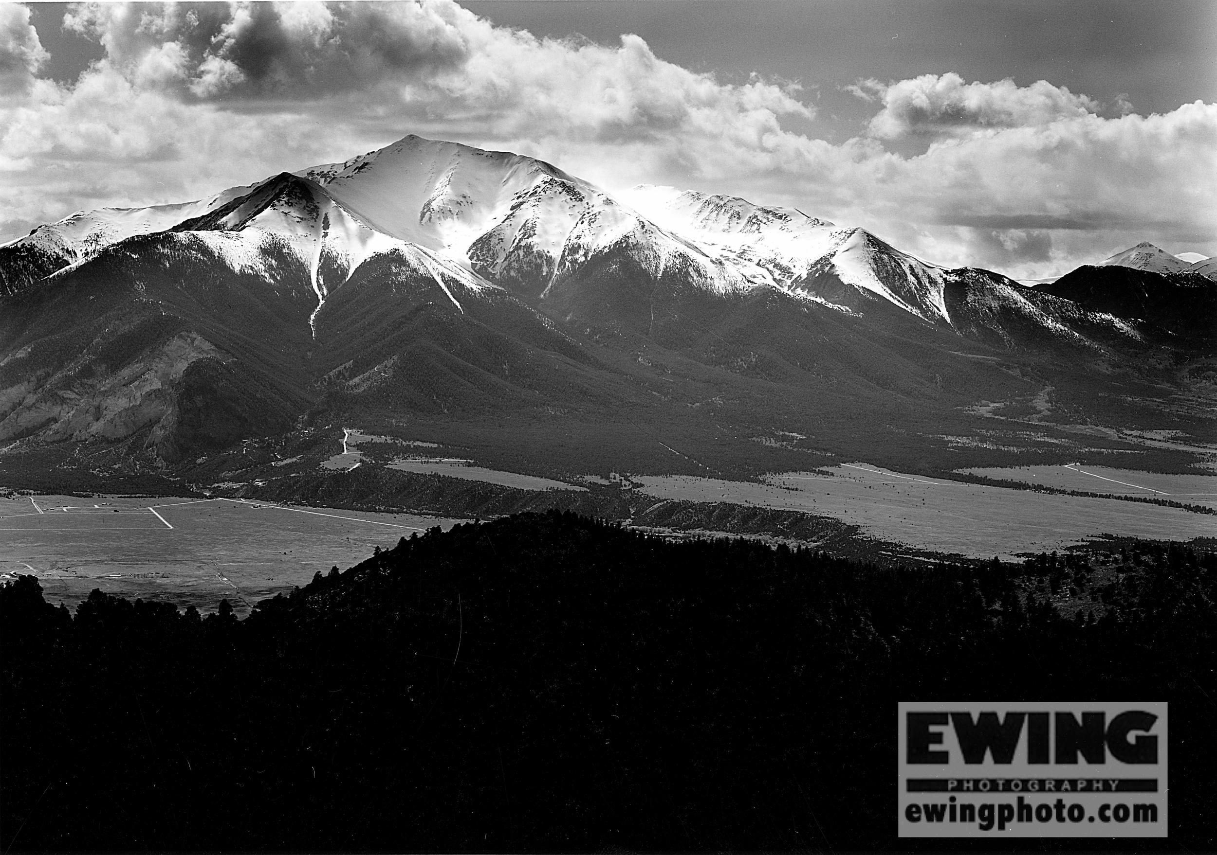 Mt. Princeton & The Collegiate Range Between Buena Vista & Salida, Colorado