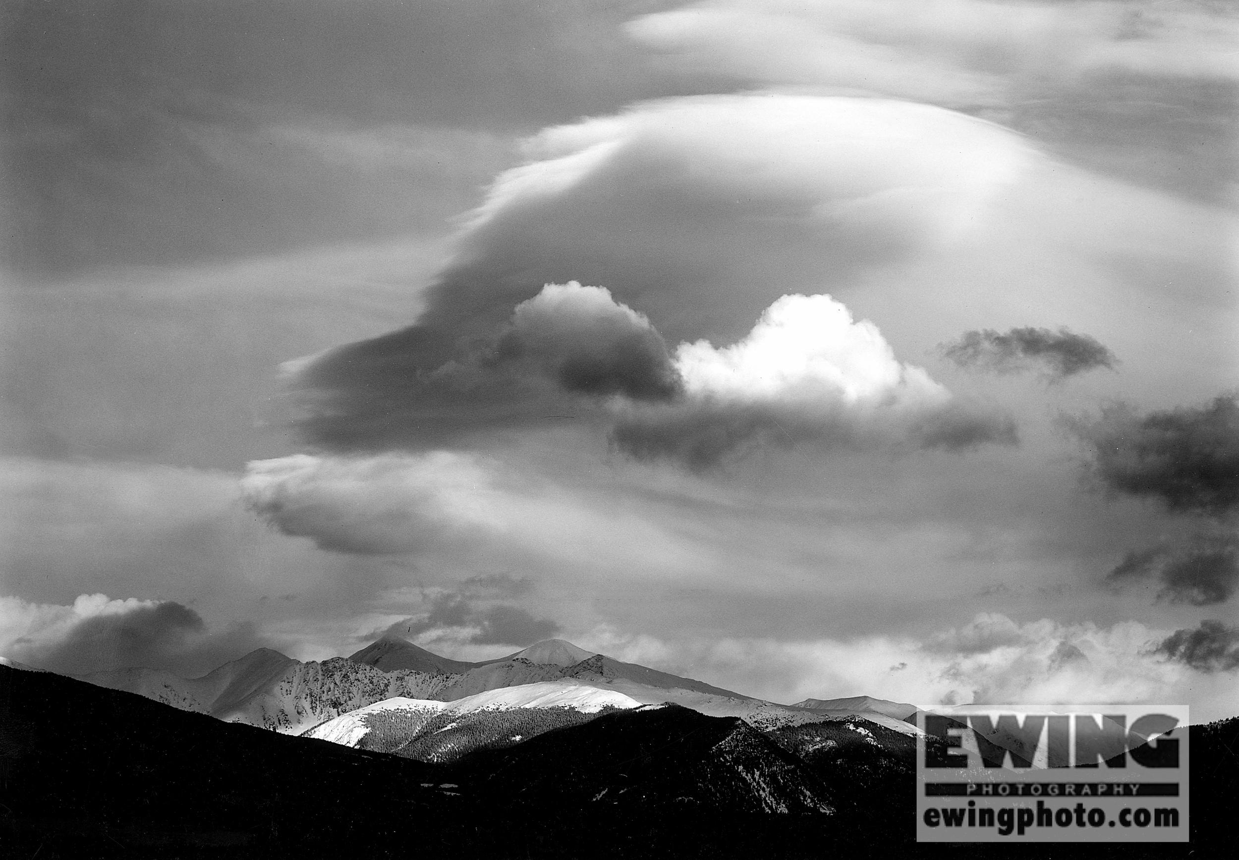Grays & Torreys, Storm Clouds Dillon, Colorado