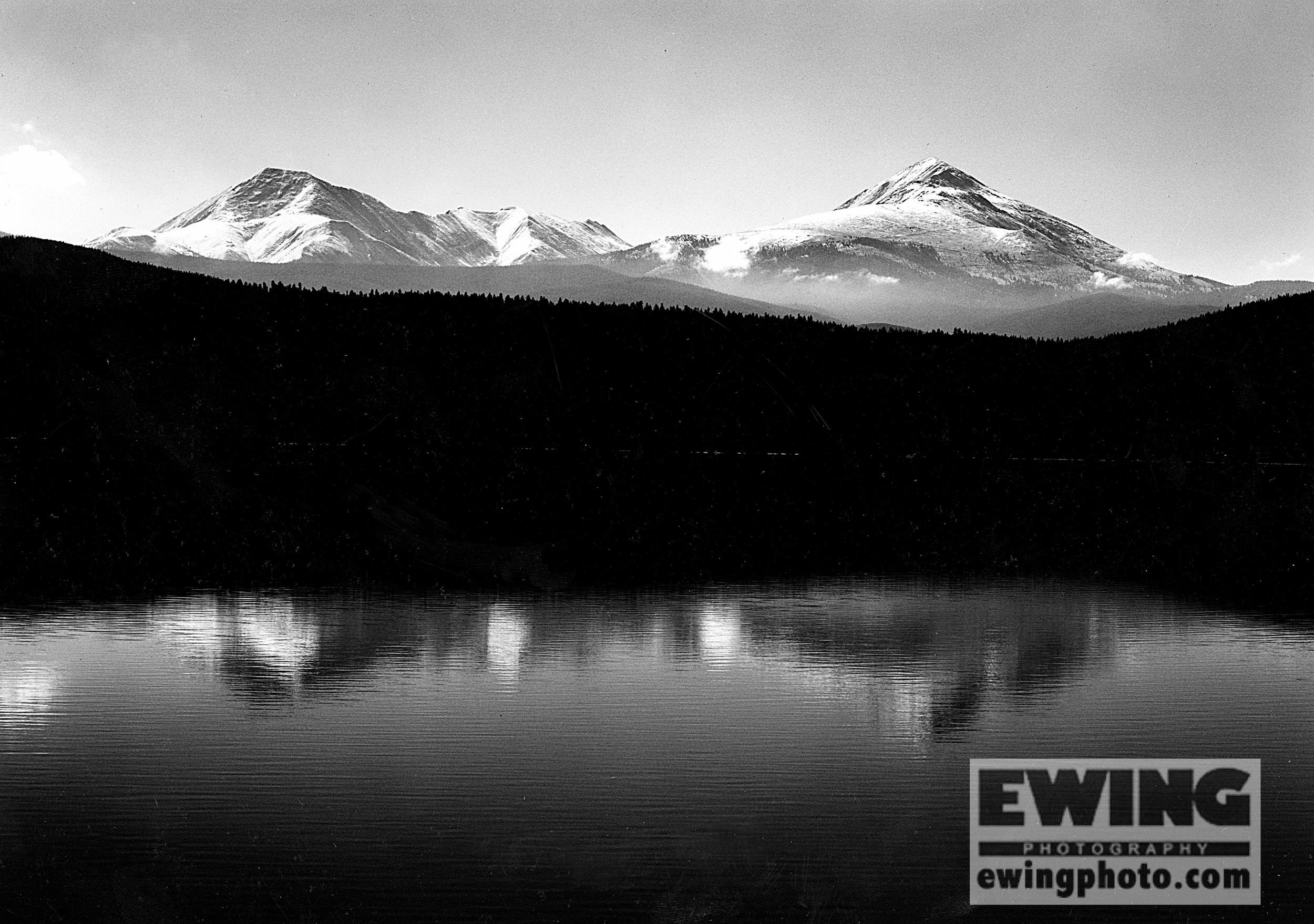 Reflection, Guyot & Baldie Peaks Dillon, Colorado
