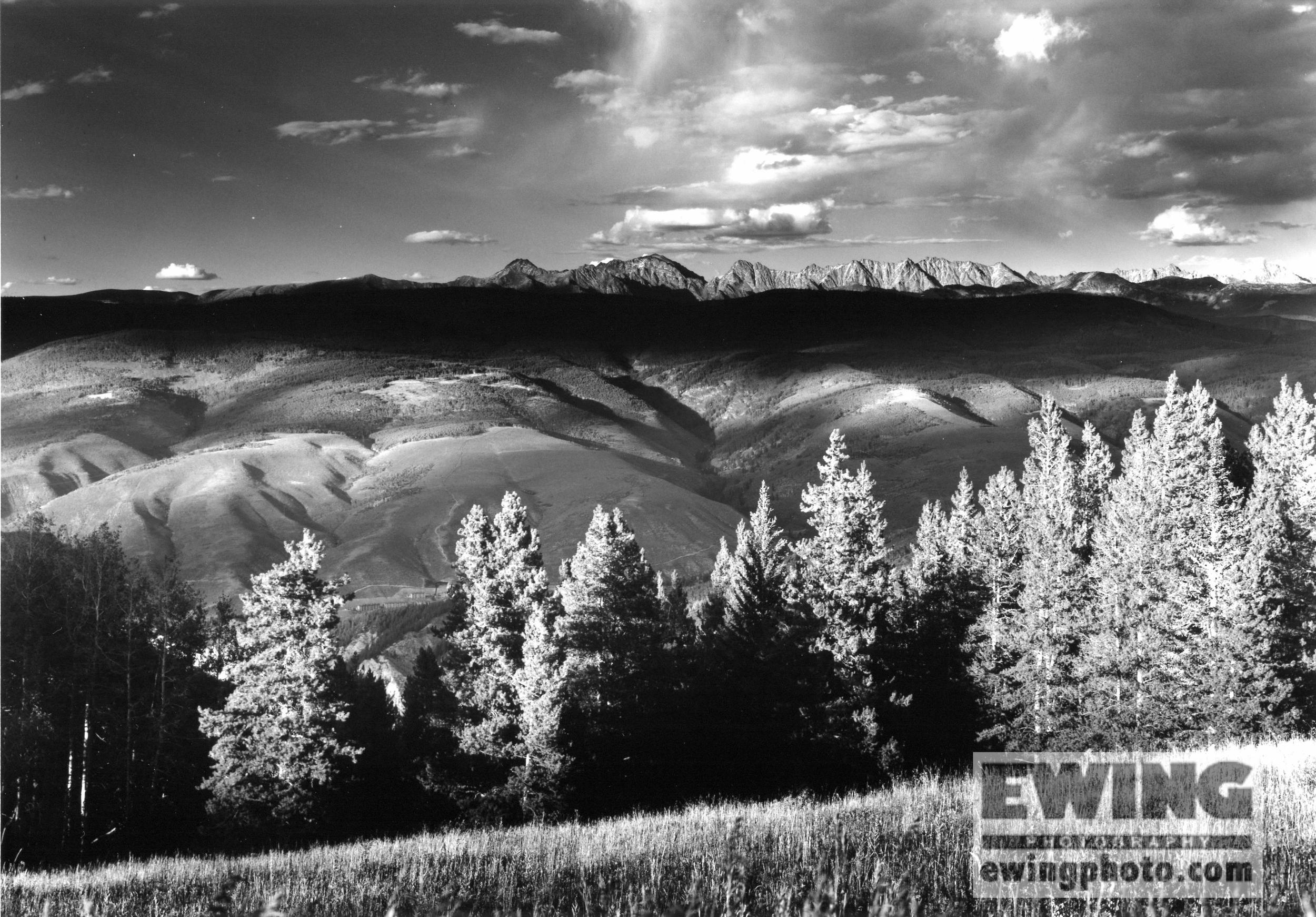 Gore Range Beaver Creek, Colorado