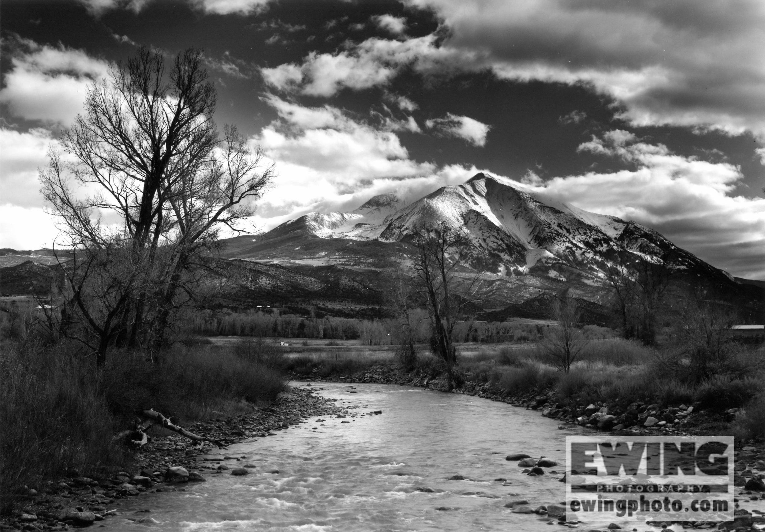 Crystal River & Mt. Sopris Colorado