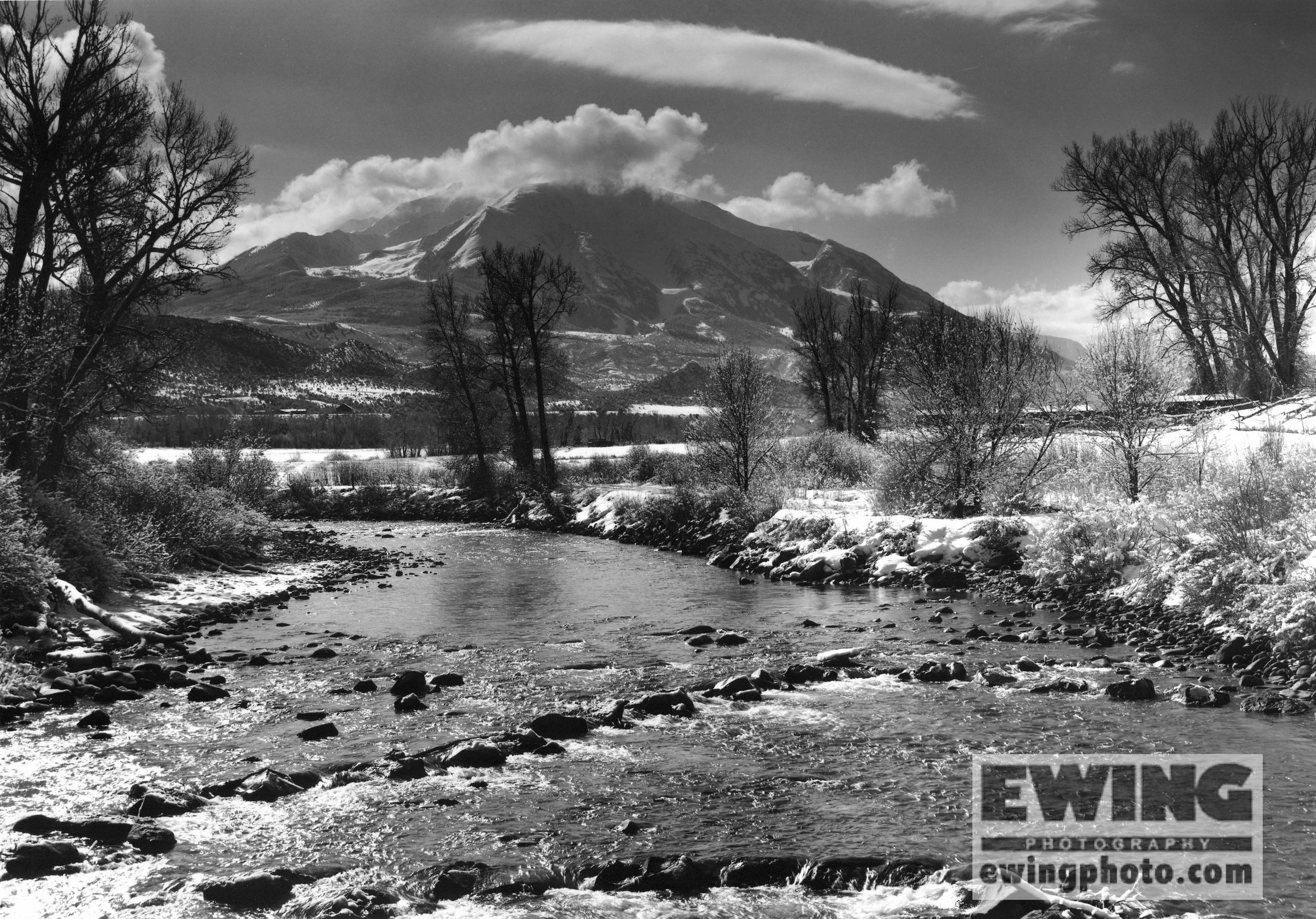 Crystal River & Mt. Sopris, Colorado