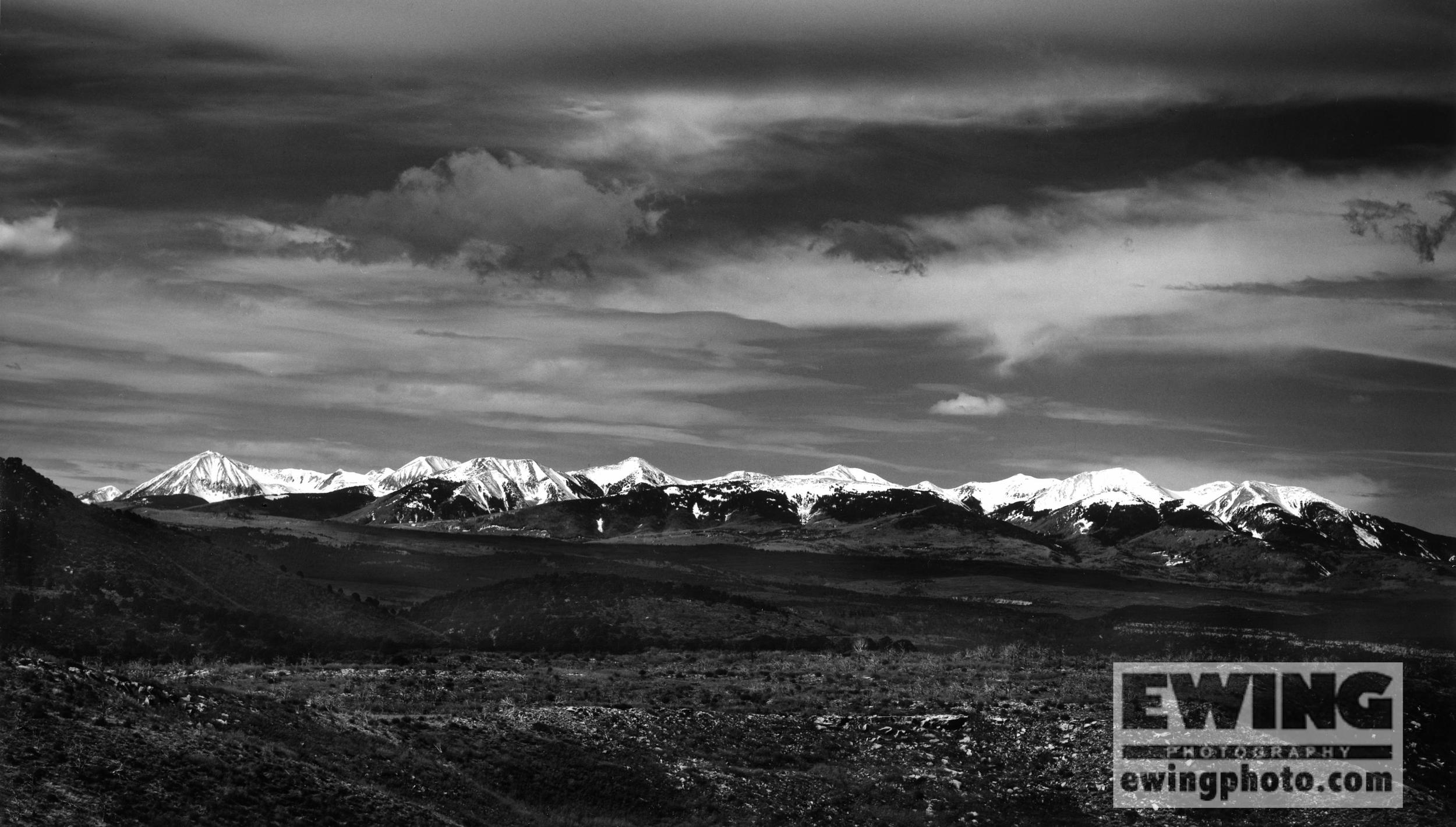 La Sal Mountains CO/UT The Uncompahgre Plateau