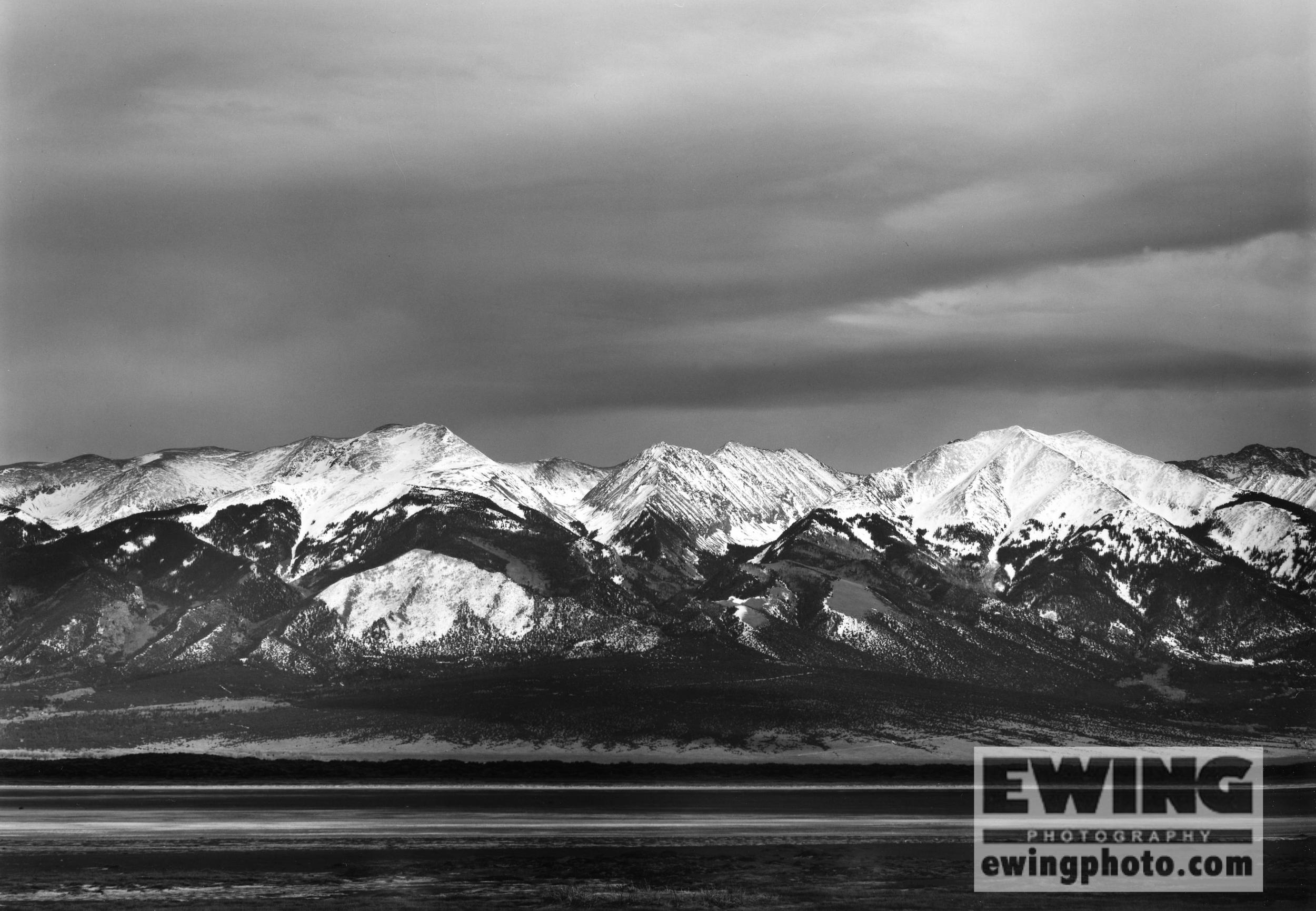 Sangre De Cristo Mountains San Luis Valley, Colorado
