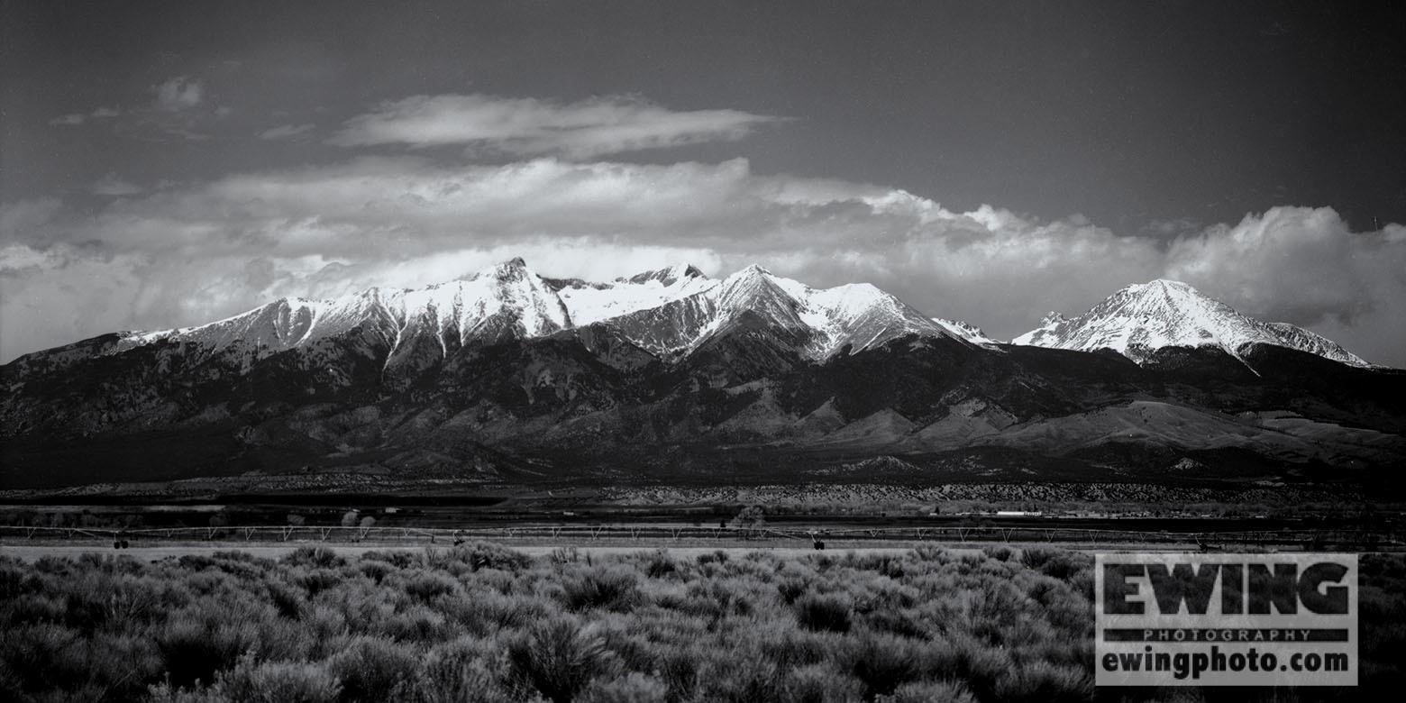 Blanca Peak, Mount Lindsey, Little Bear Peak, Ellingwood Point,  Blanca, CO