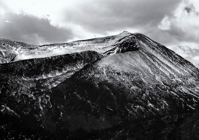 Mt. Lincoln, Mt. Democrat, Mosquito Range,  Alma. Colorado