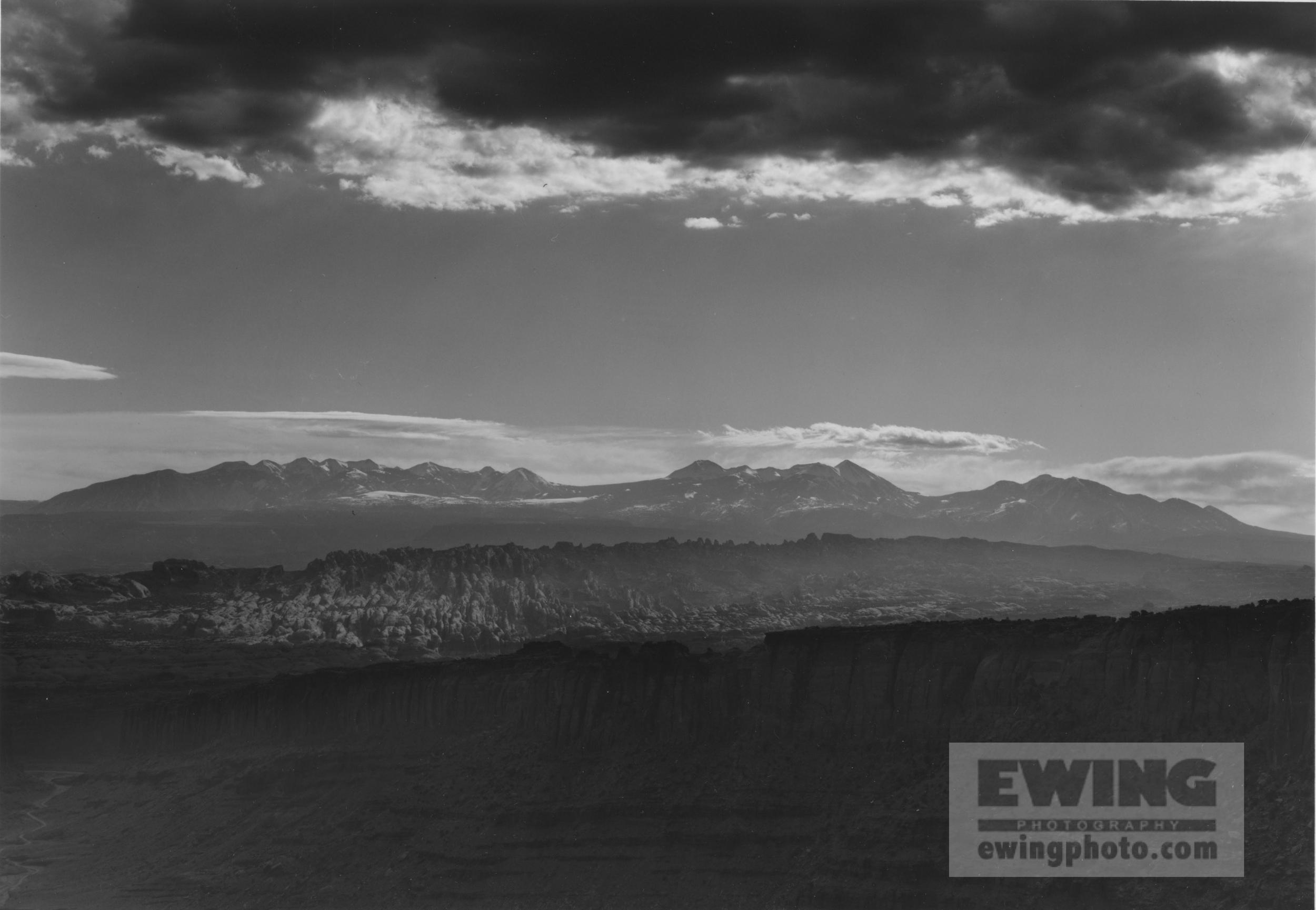 Lasal Mountains Utah
