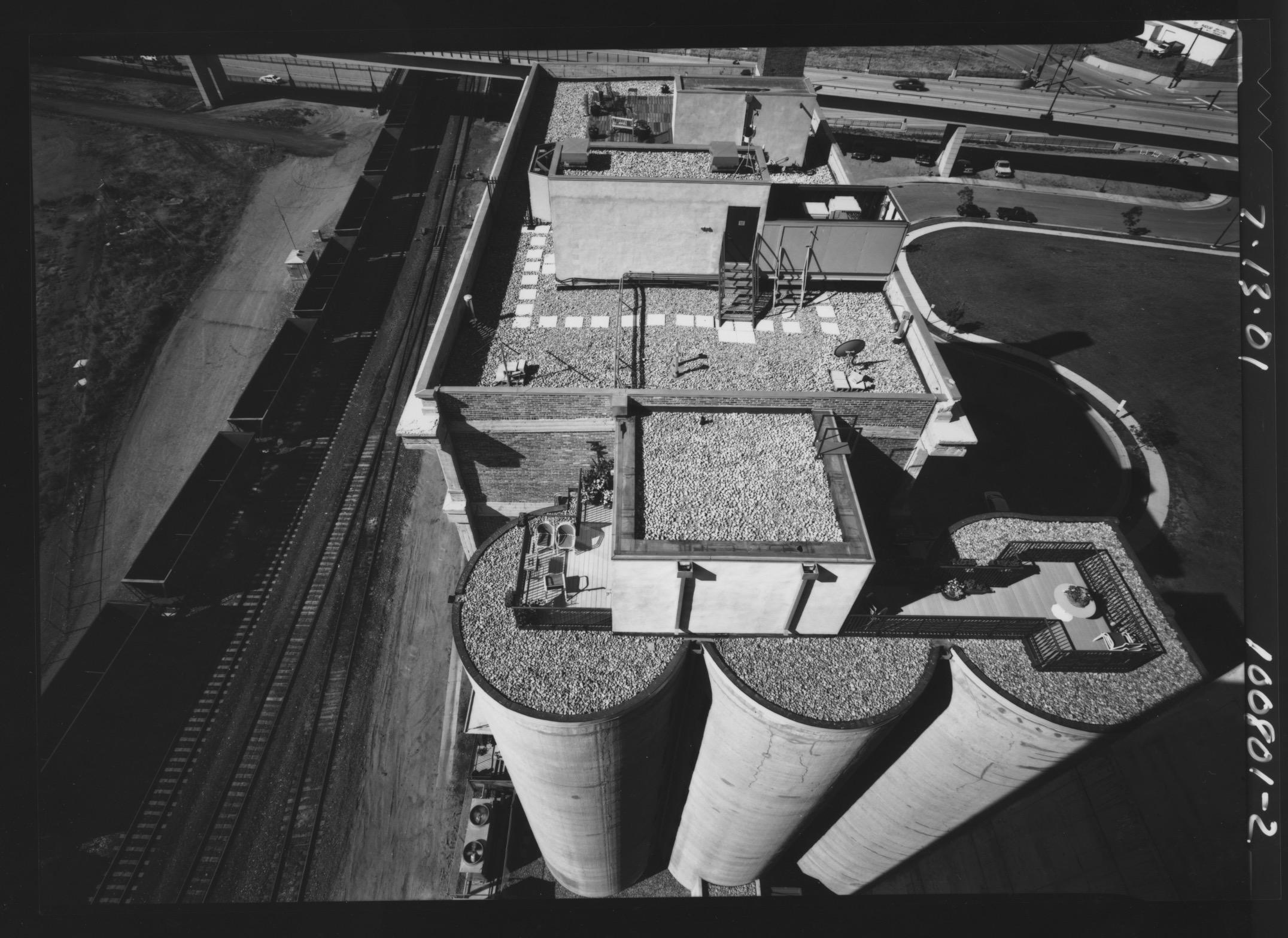 Grain Towers Platte River Valley October 12. 2001