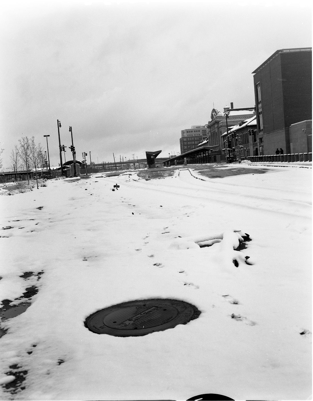 Tracks of Denver's Union Station