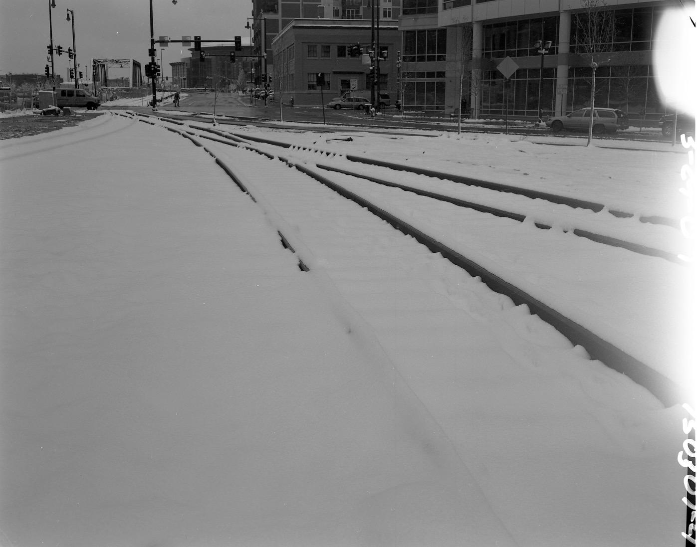 Tracks South Union Station