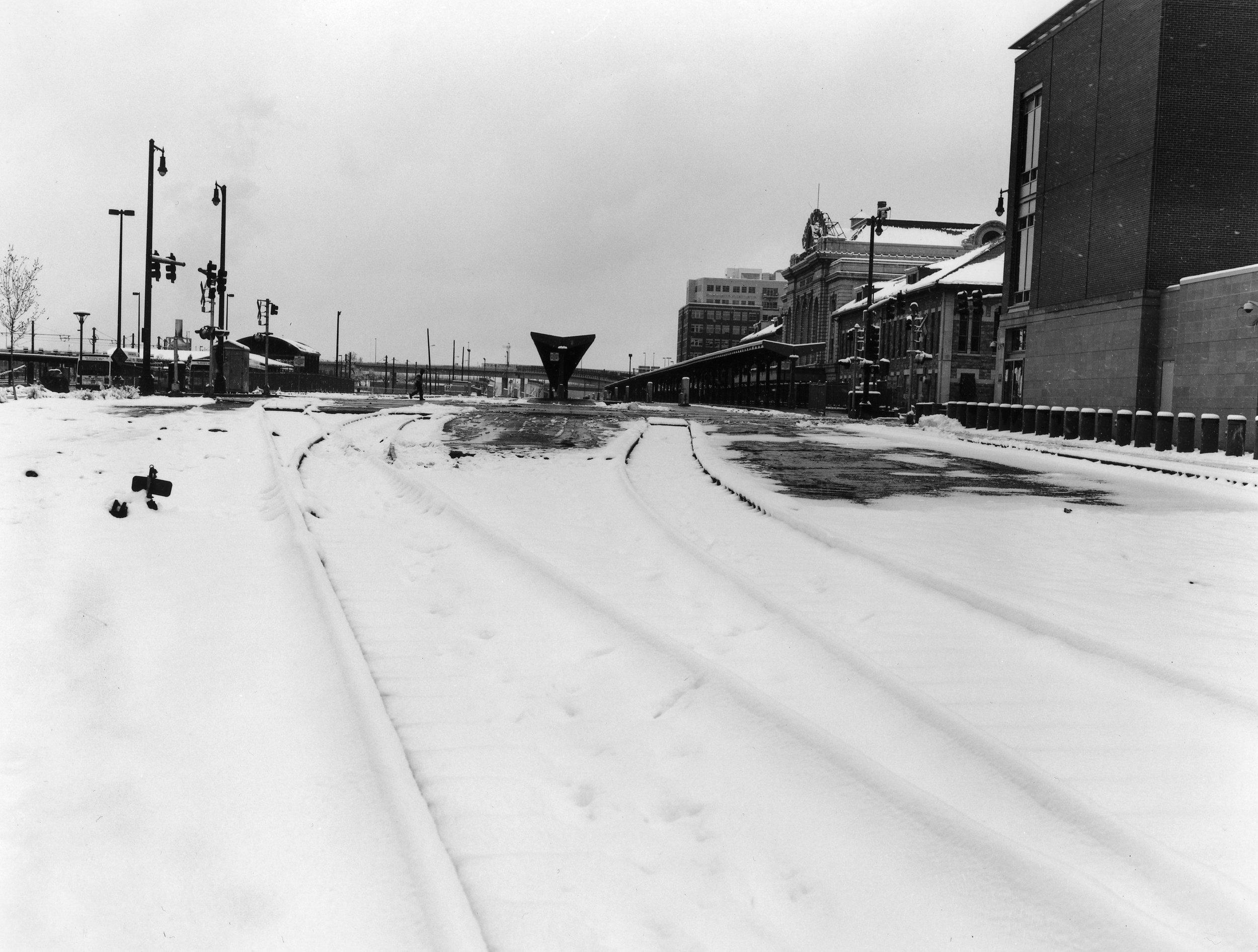 Tracks of Union Station