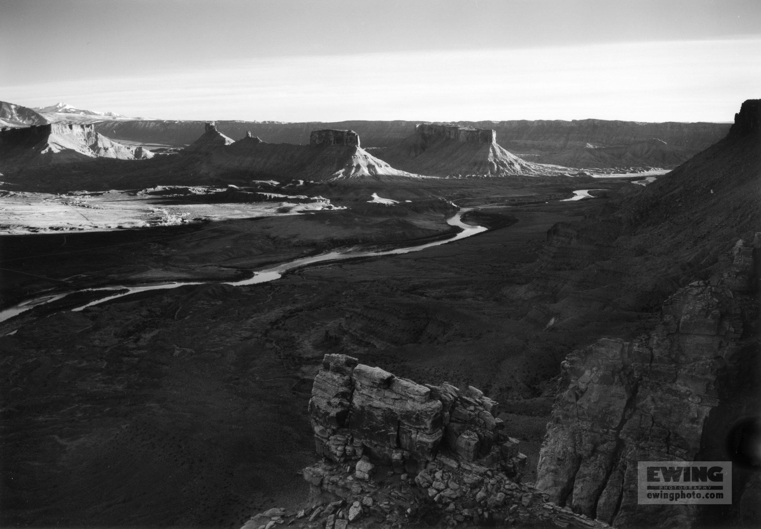 Dome Plateau, Colorado River, Utah
