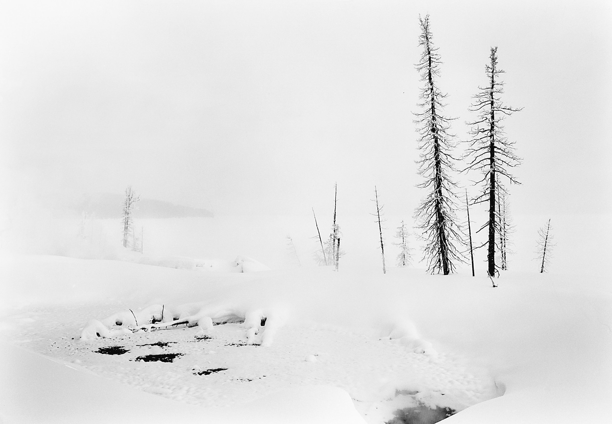 West Thumb, Geyser Basin Yellowstone Lake