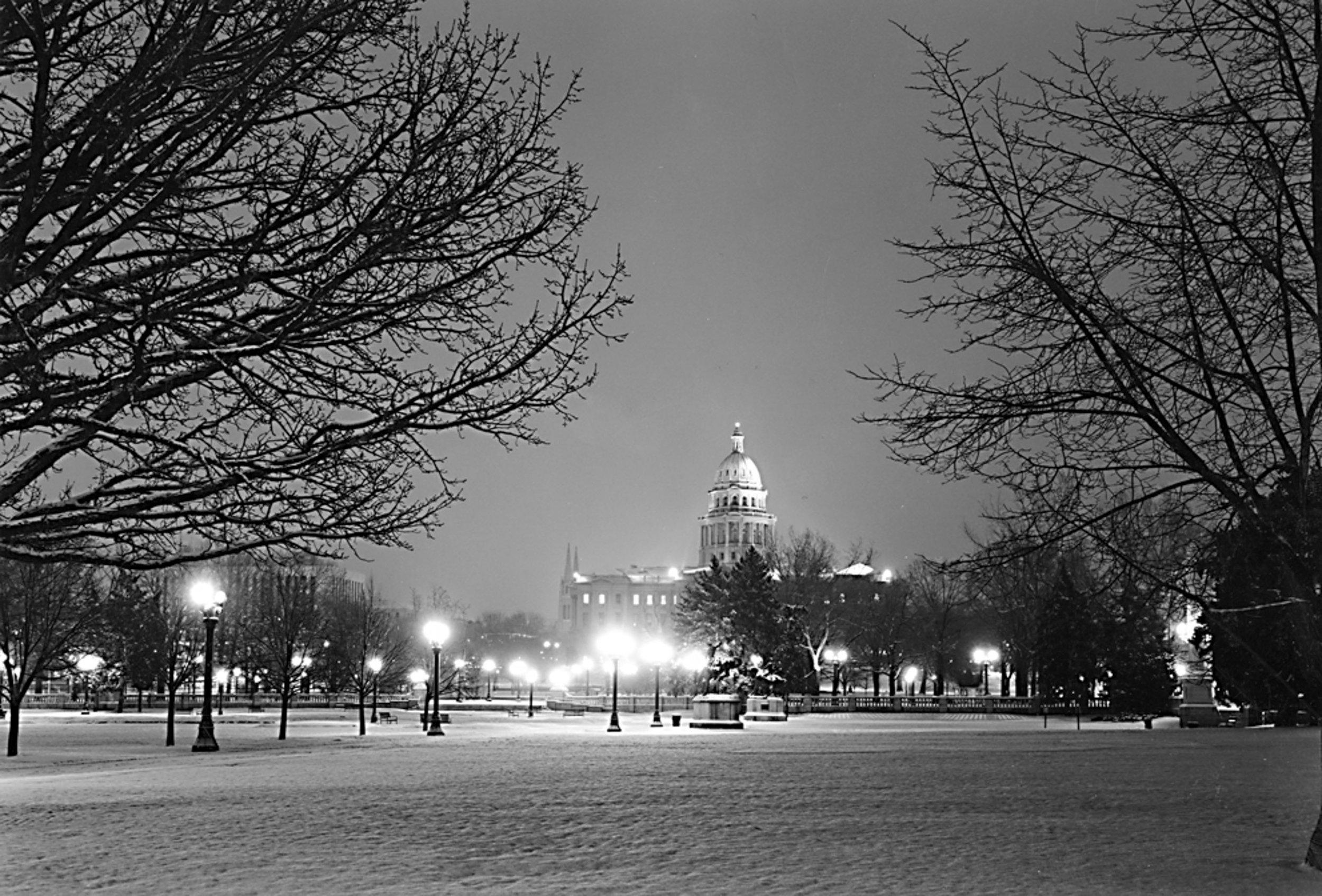 Capitol Building Civic Center Park Denver