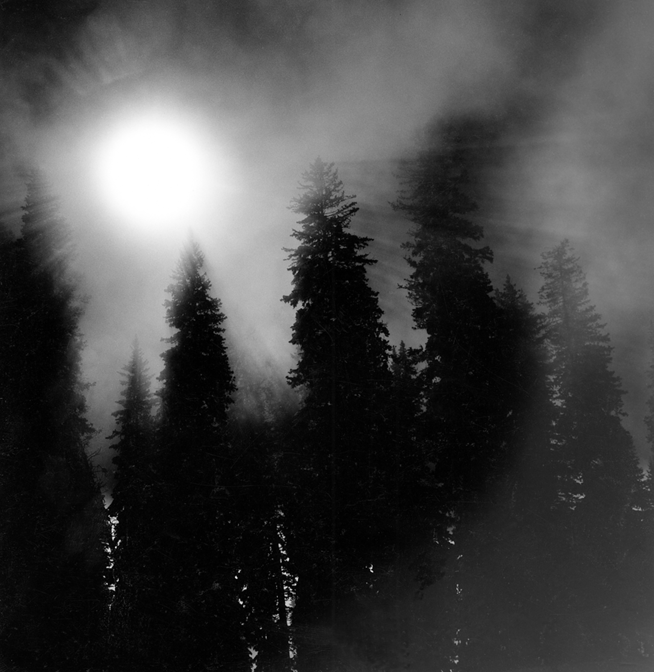 Sunrays, West Thumb Yellowstone