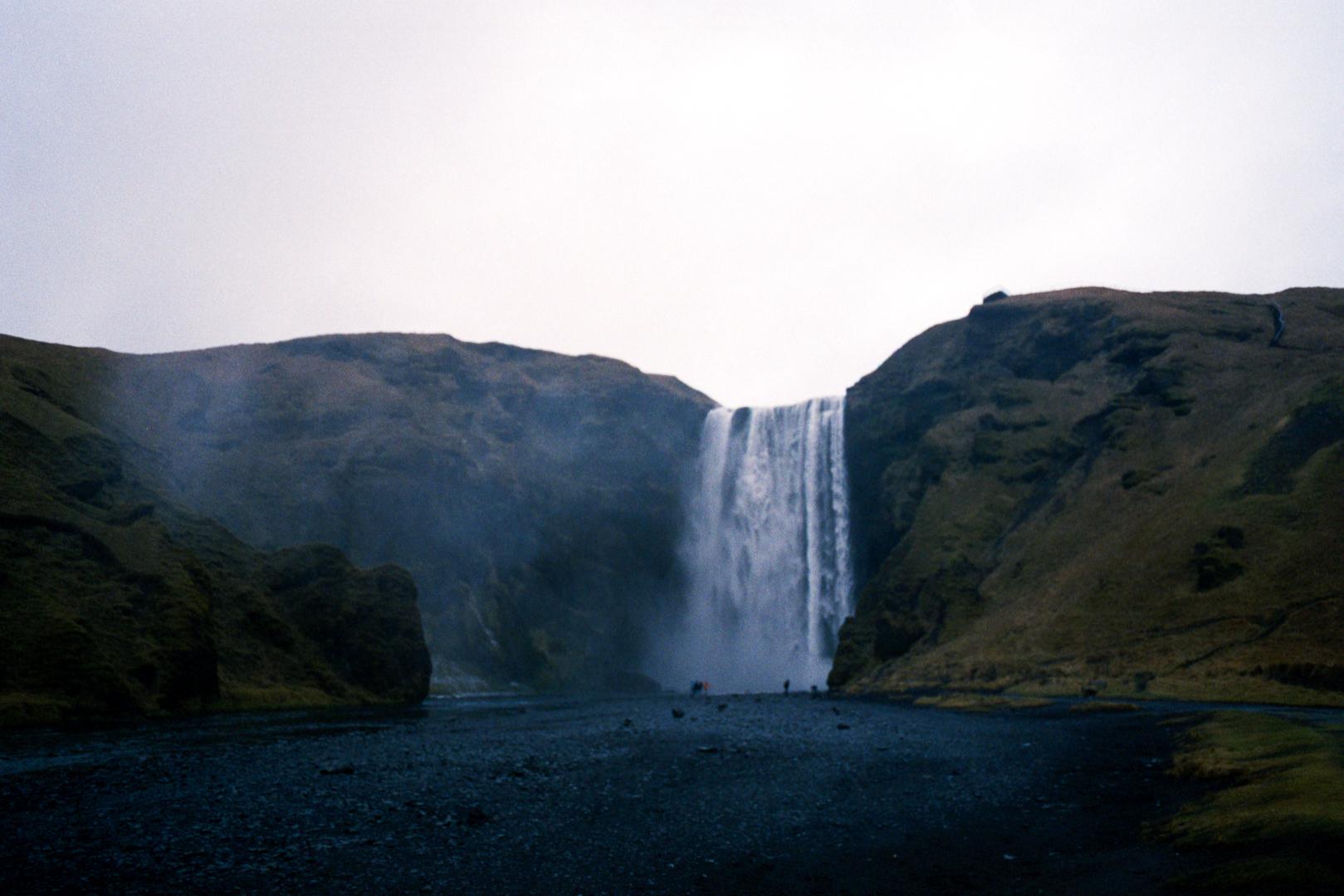 Iceland.  35mm film