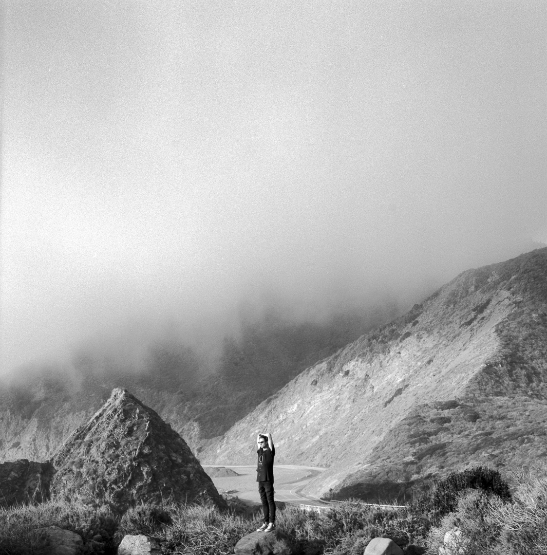 Logan Landry  Big Sur, California.  120mm film