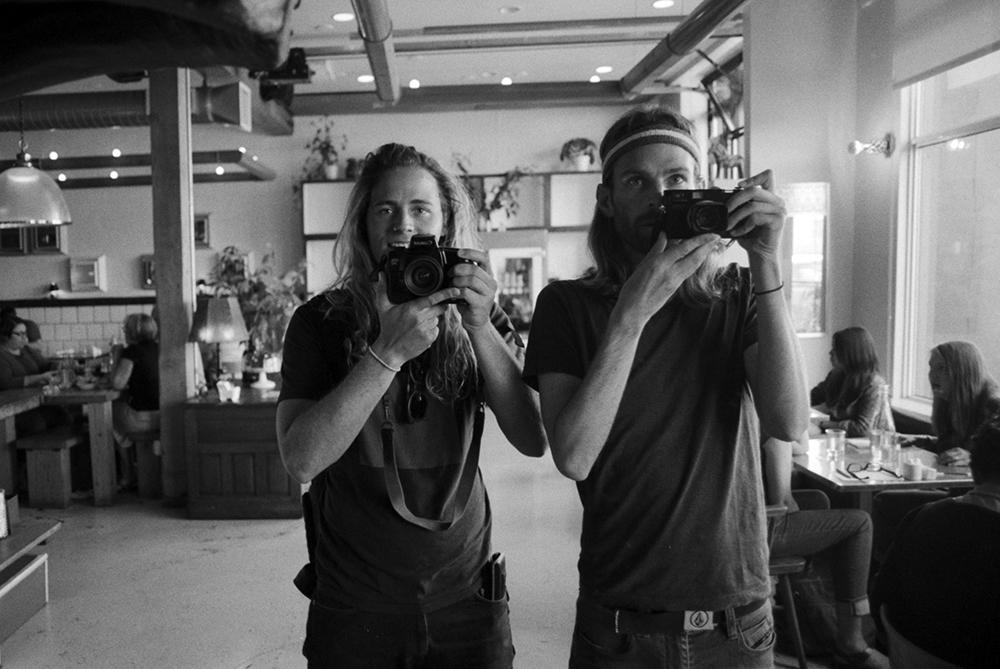 Myself & Ryan.