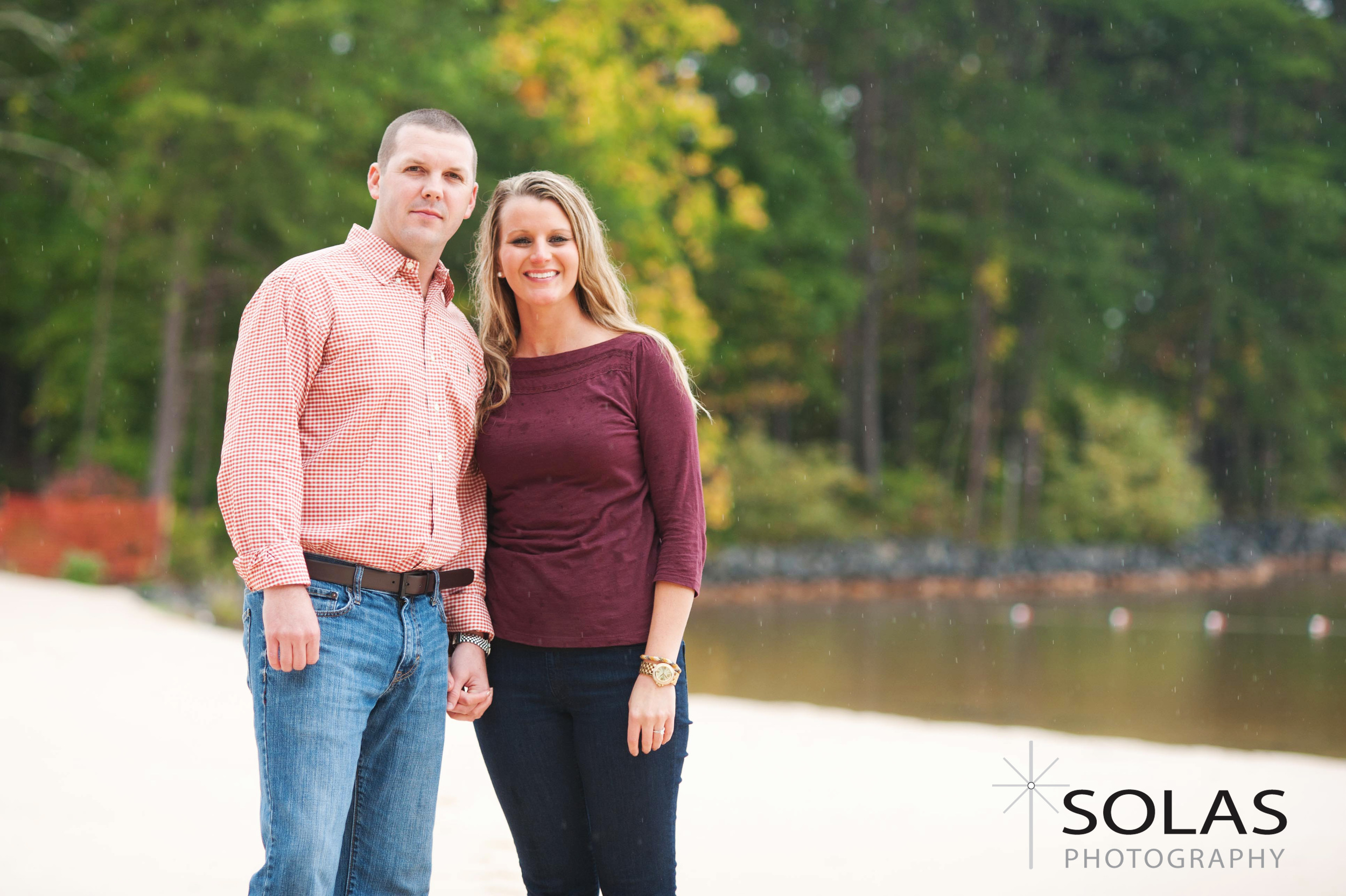 smith mountain lake engagement photos