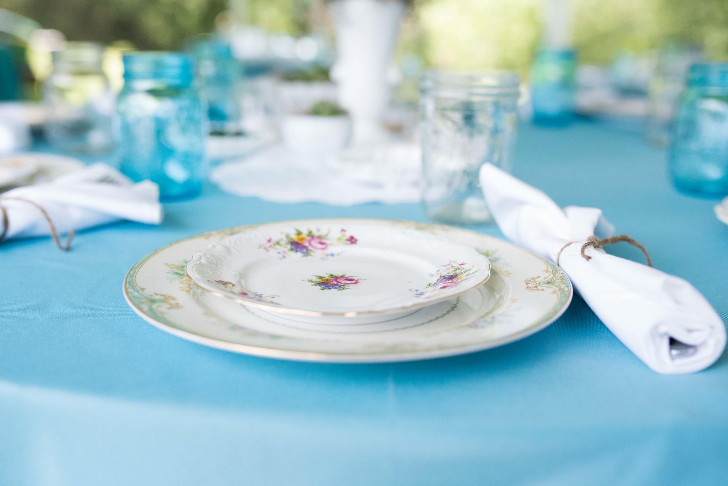 wedding china