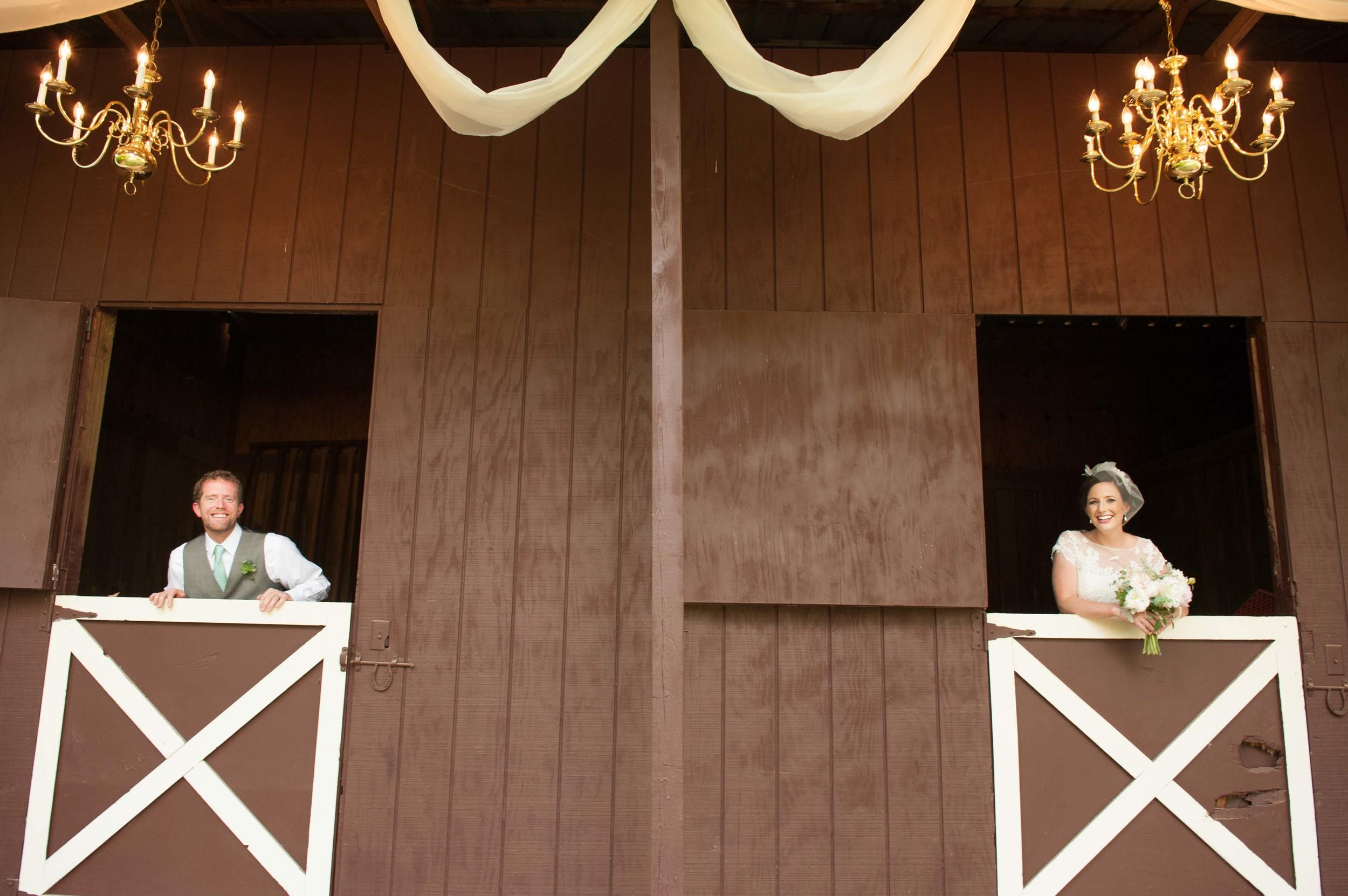 bridal party horse barn