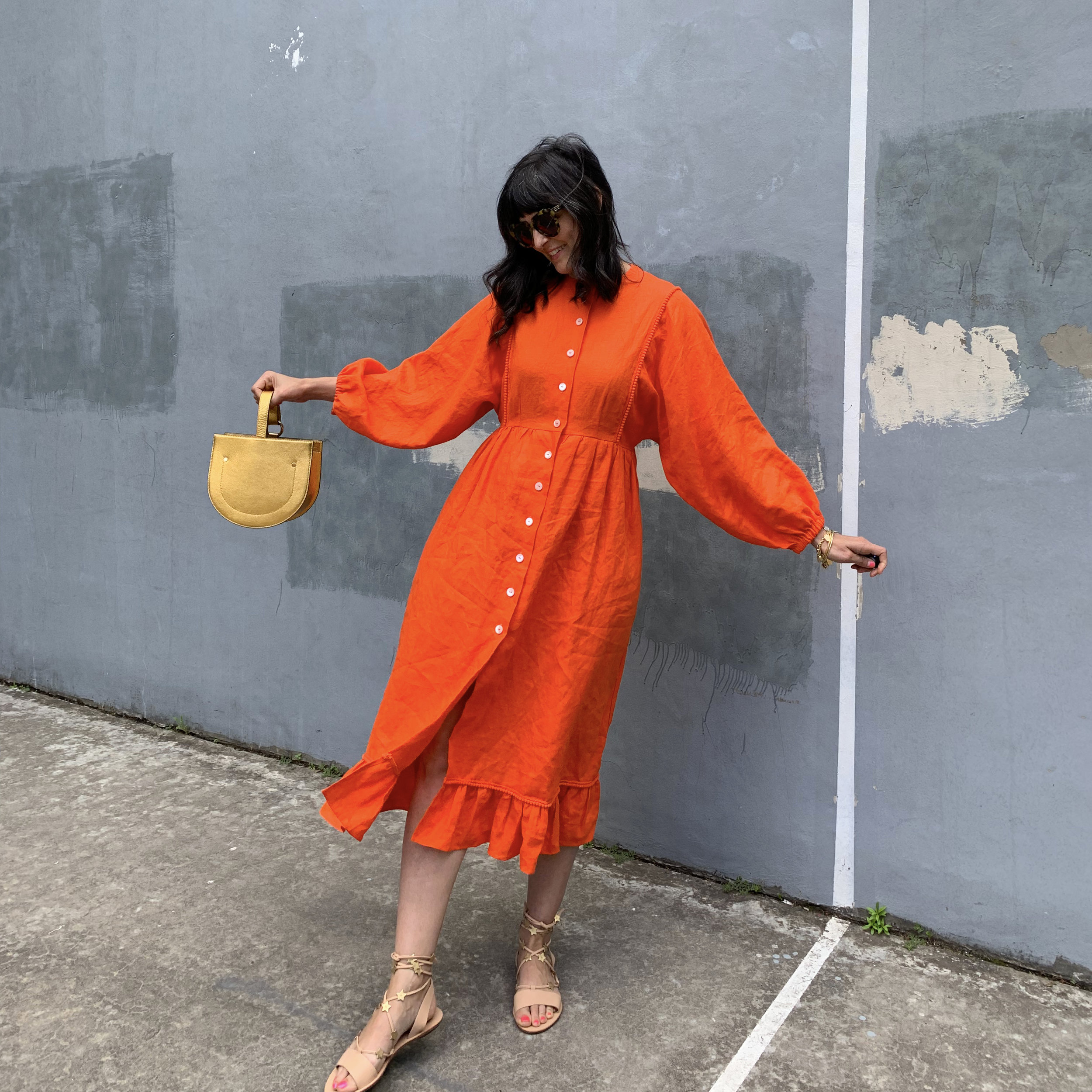 ORANGE DRESS pose 2.jpg
